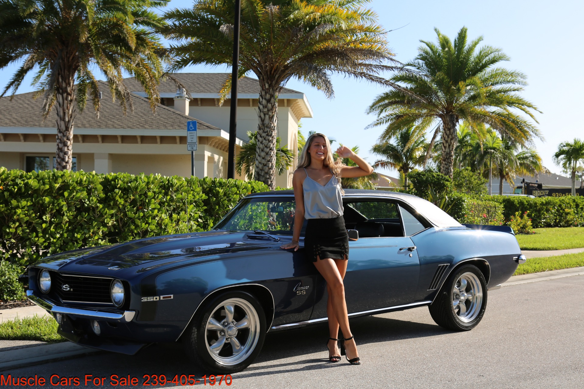 Used 1969 Chevy Camaro SS for sale $39,000 at Muscle Cars for Sale Inc. in Fort Myers FL 33912 3