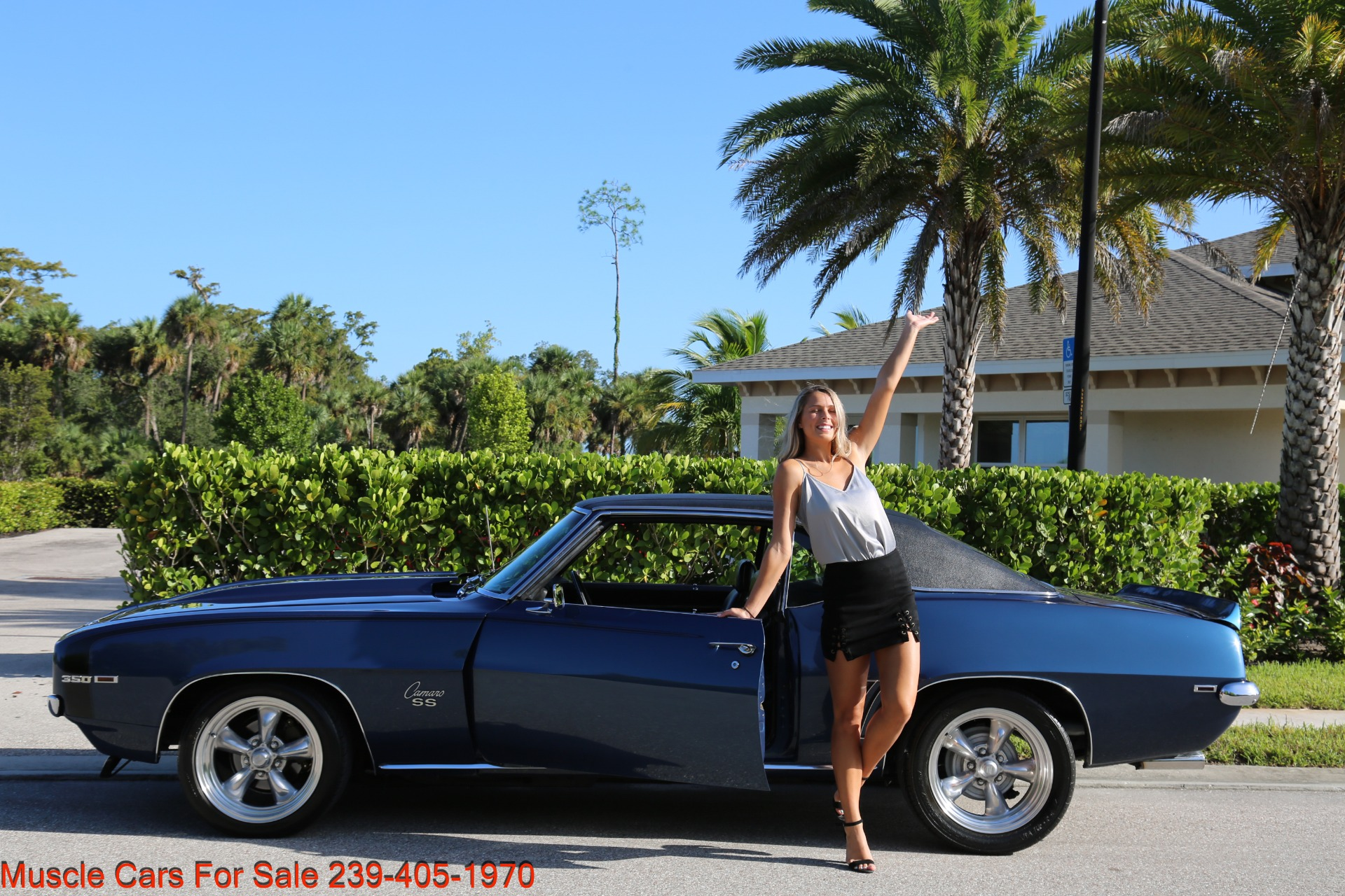 Used 1969 Chevy Camaro SS for sale $39,000 at Muscle Cars for Sale Inc. in Fort Myers FL 33912 4