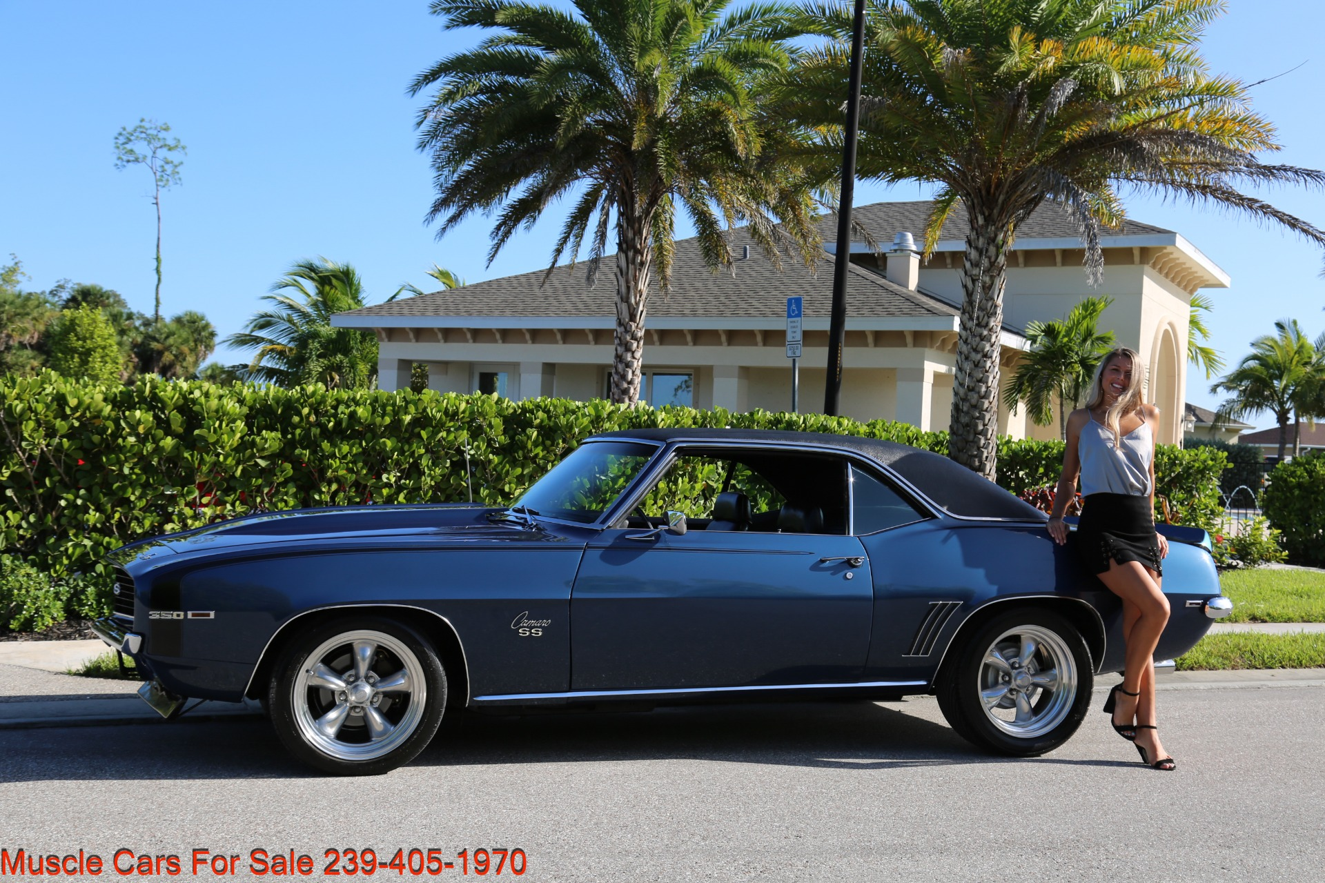 Used 1969 Chevy Camaro SS for sale $39,000 at Muscle Cars for Sale Inc. in Fort Myers FL 33912 5