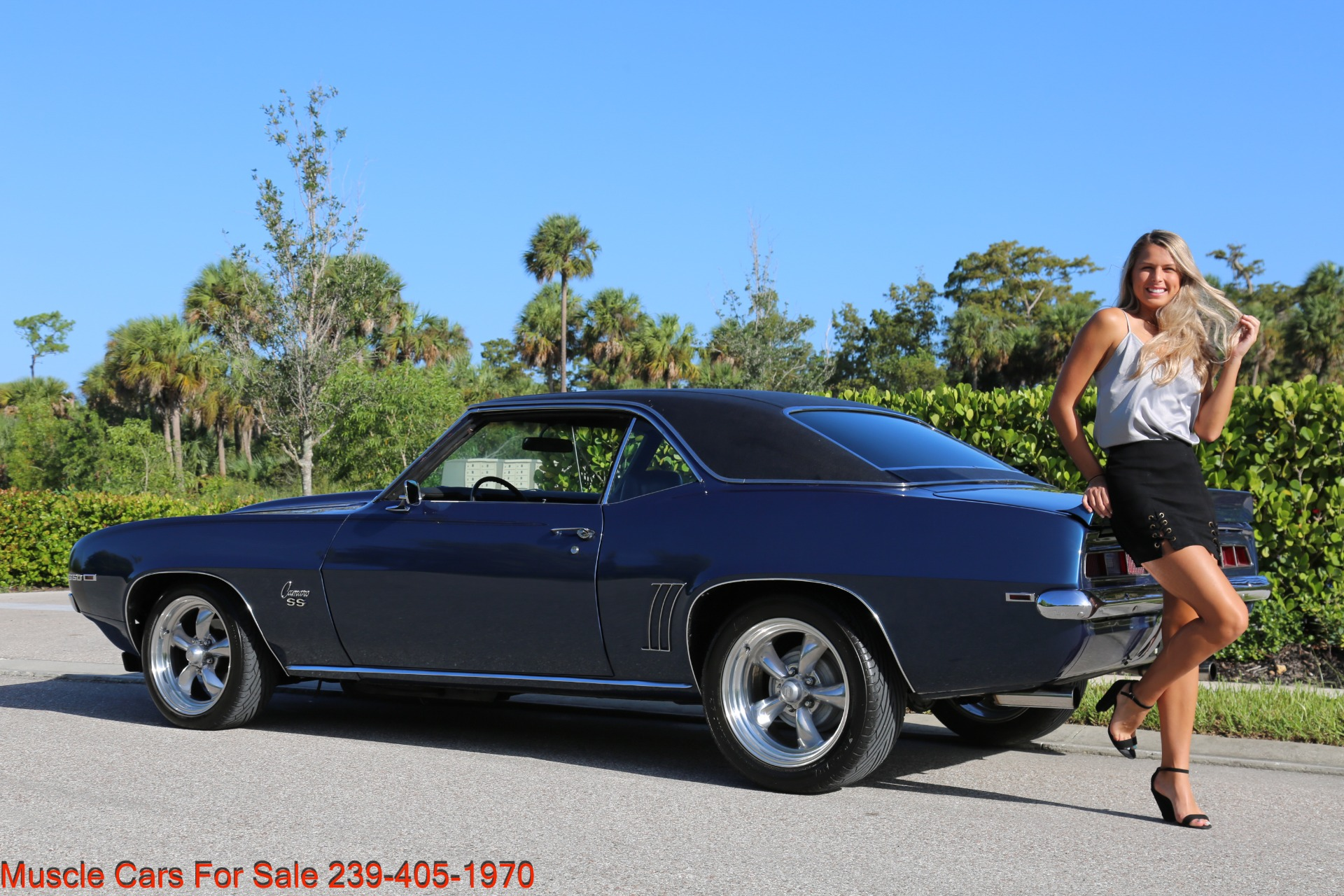 Used 1969 Chevy Camaro SS for sale $39,000 at Muscle Cars for Sale Inc. in Fort Myers FL 33912 6