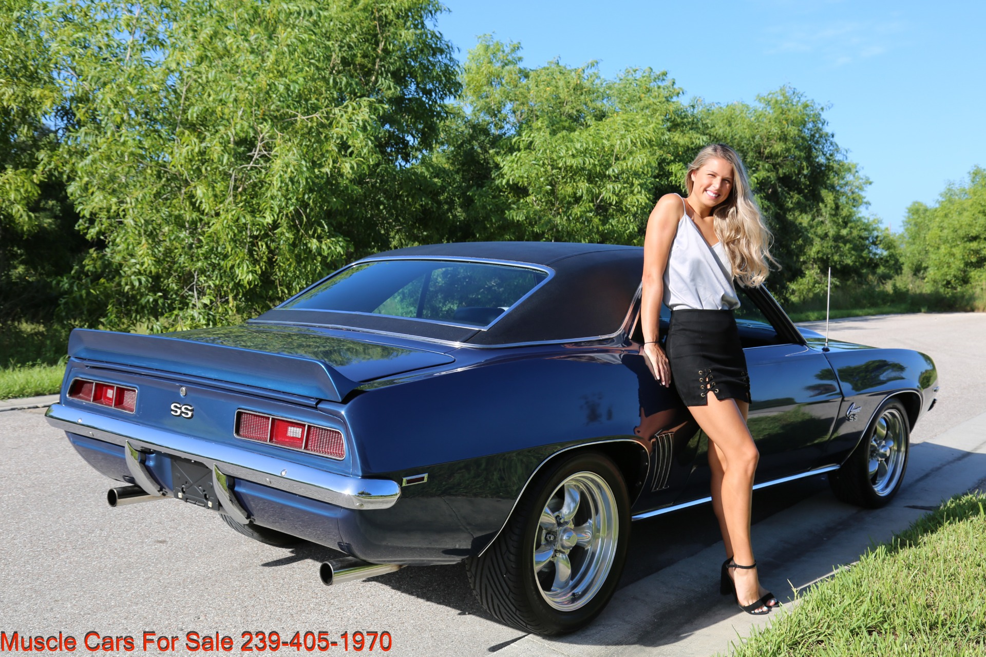 Used 1969 Chevy Camaro SS for sale $39,000 at Muscle Cars for Sale Inc. in Fort Myers FL 33912 8