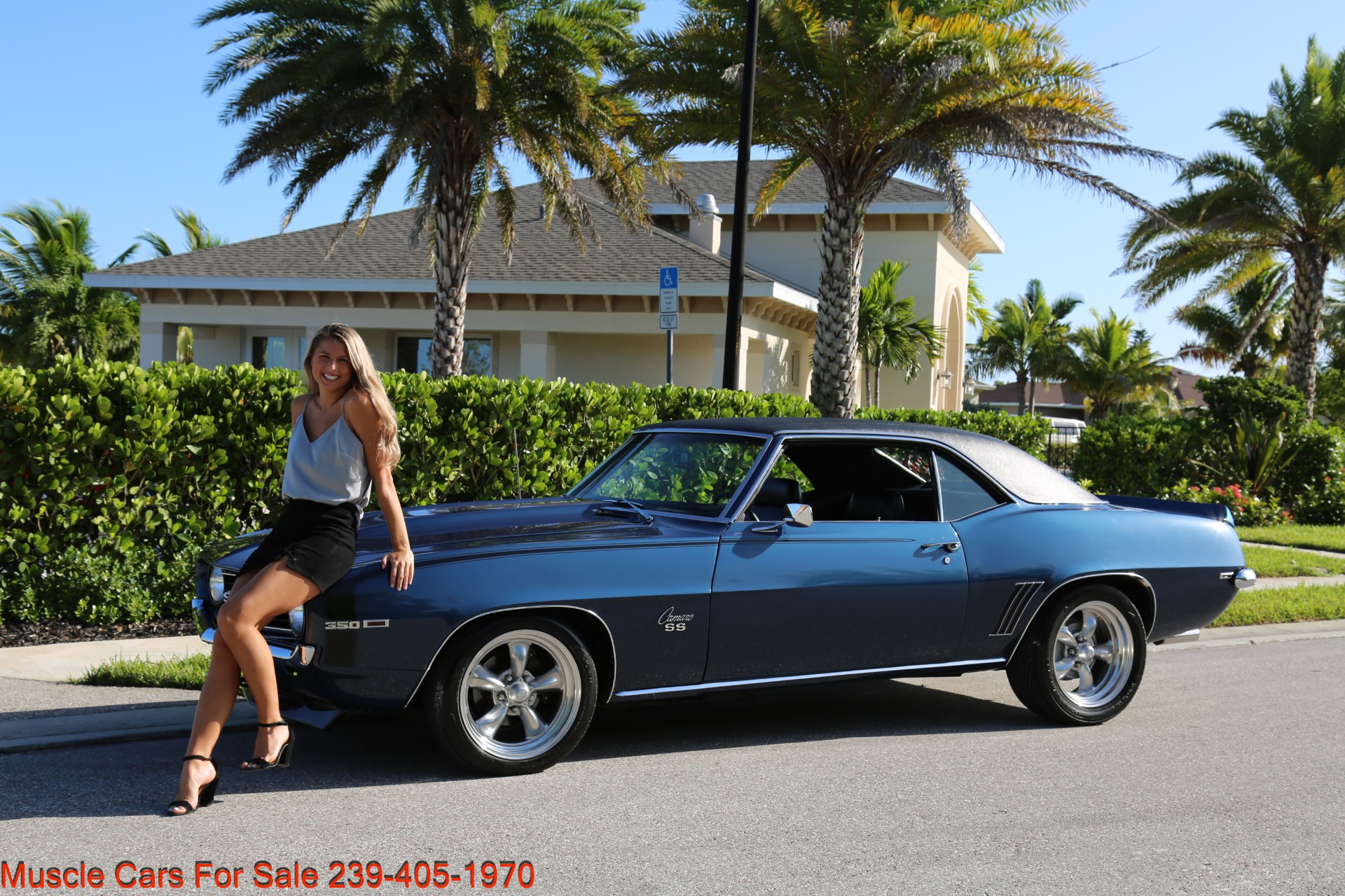 Used 1969 Chevy Camaro SS for sale $39,000 at Muscle Cars for Sale Inc. in Fort Myers FL 33912 1