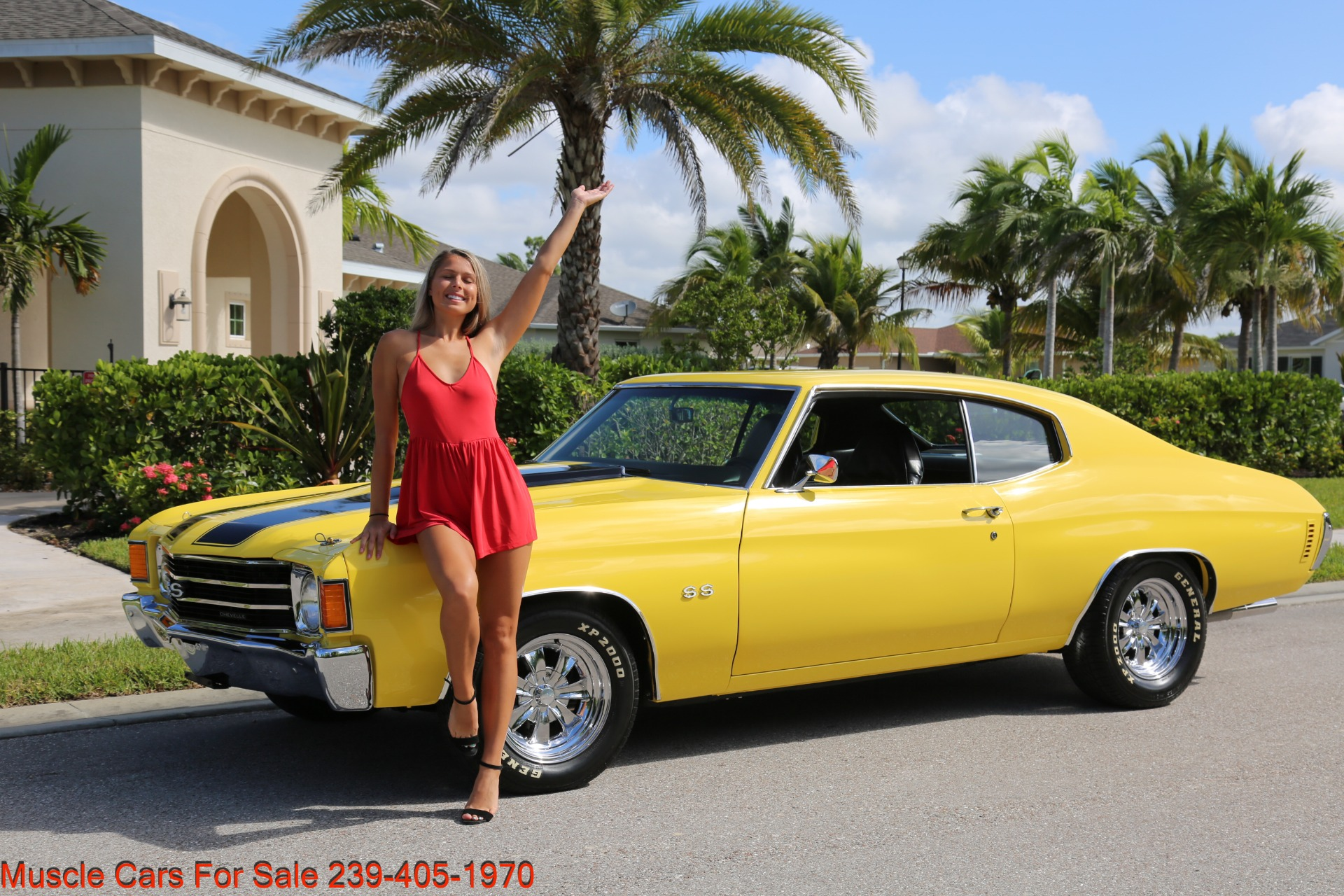 Used 1972 Chevy Chevelle SS for sale Sold at Muscle Cars for Sale Inc. in Fort Myers FL 33912 2