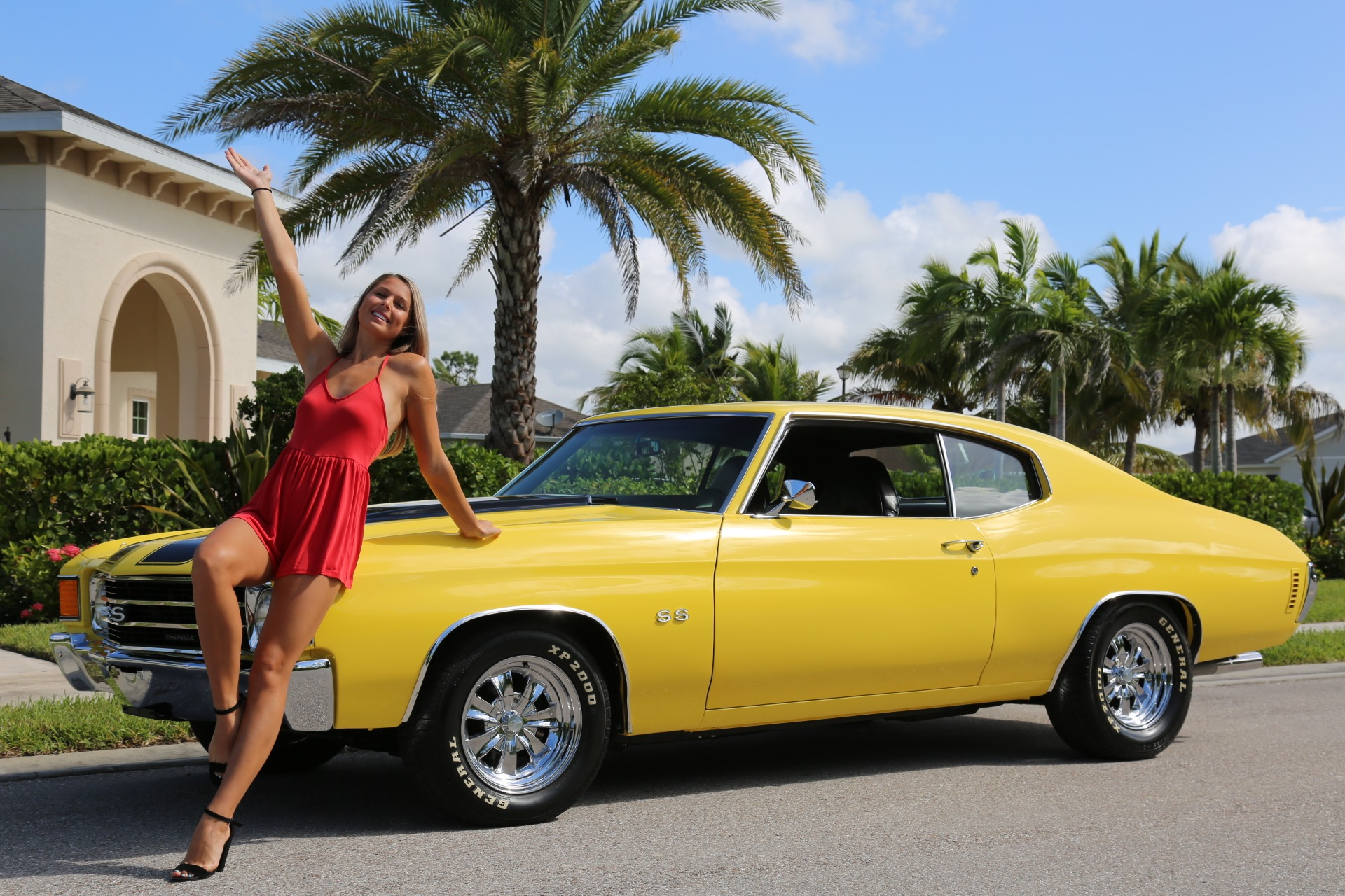 Used 1972 Chevy Chevelle SS for sale Sold at Muscle Cars for Sale Inc. in Fort Myers FL 33912 3