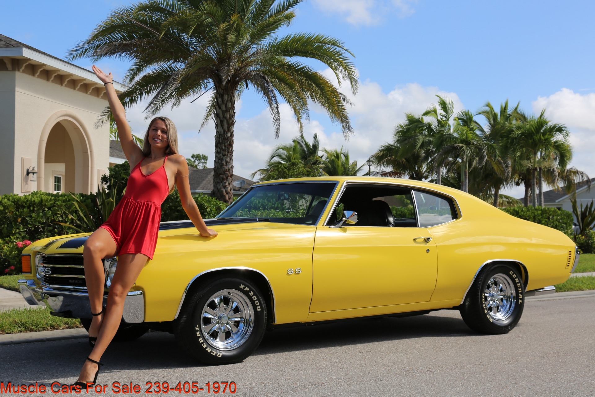 Used 1972 Chevy Chevelle SS for sale Sold at Muscle Cars for Sale Inc. in Fort Myers FL 33912 5