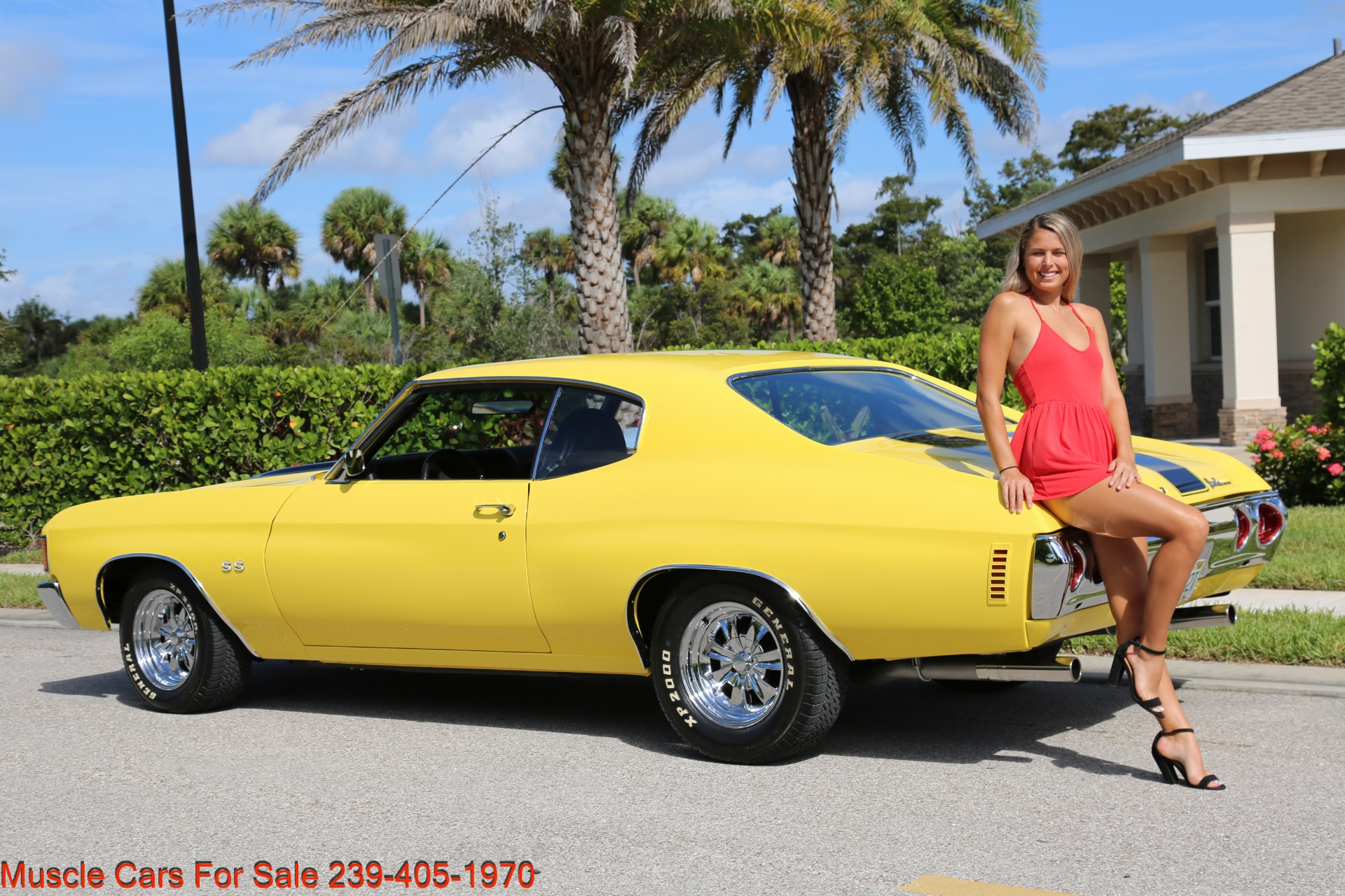 Used 1972 Chevy Chevelle SS for sale Sold at Muscle Cars for Sale Inc. in Fort Myers FL 33912 6