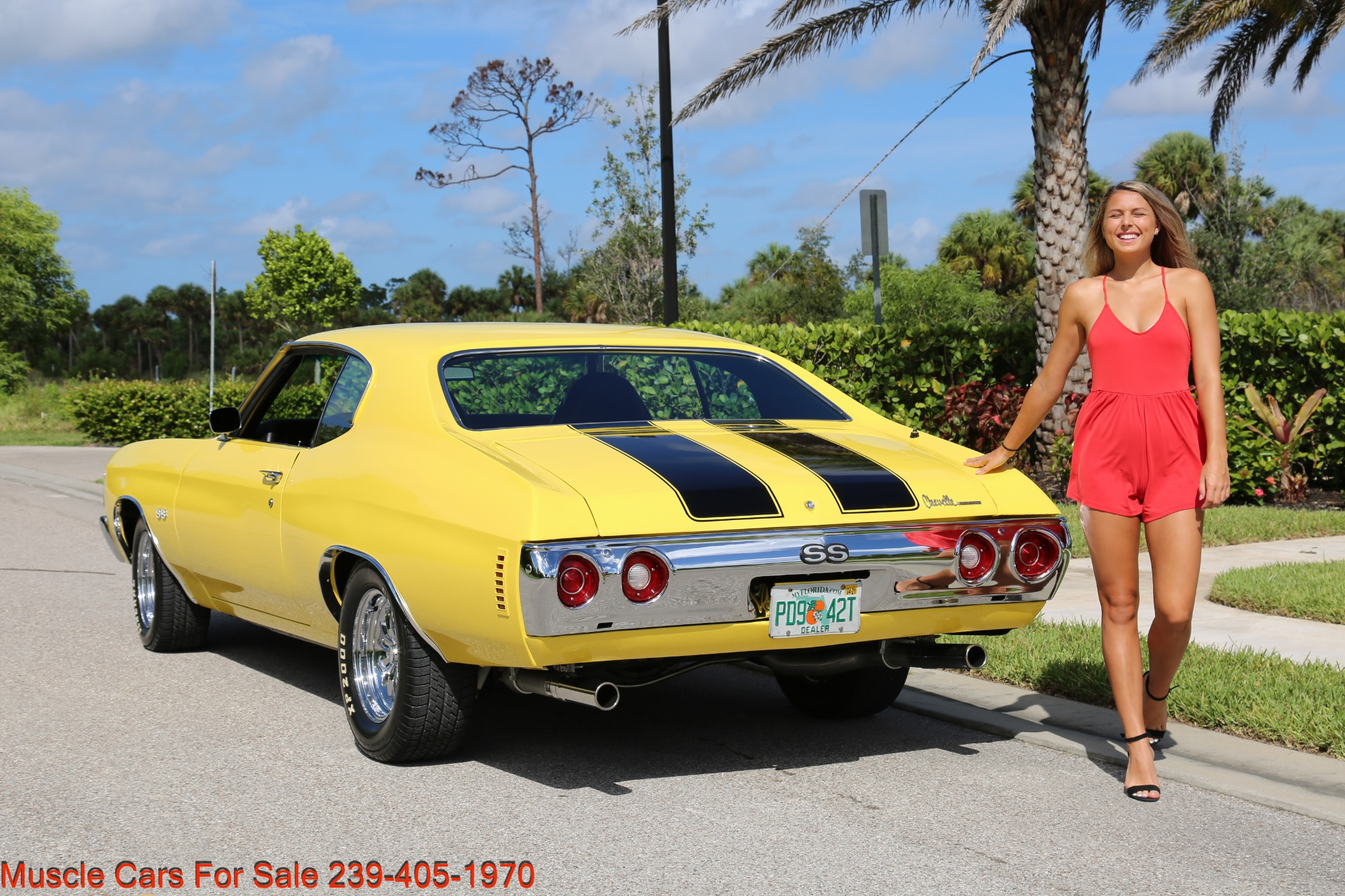 Used 1972 Chevy Chevelle SS for sale Sold at Muscle Cars for Sale Inc. in Fort Myers FL 33912 7