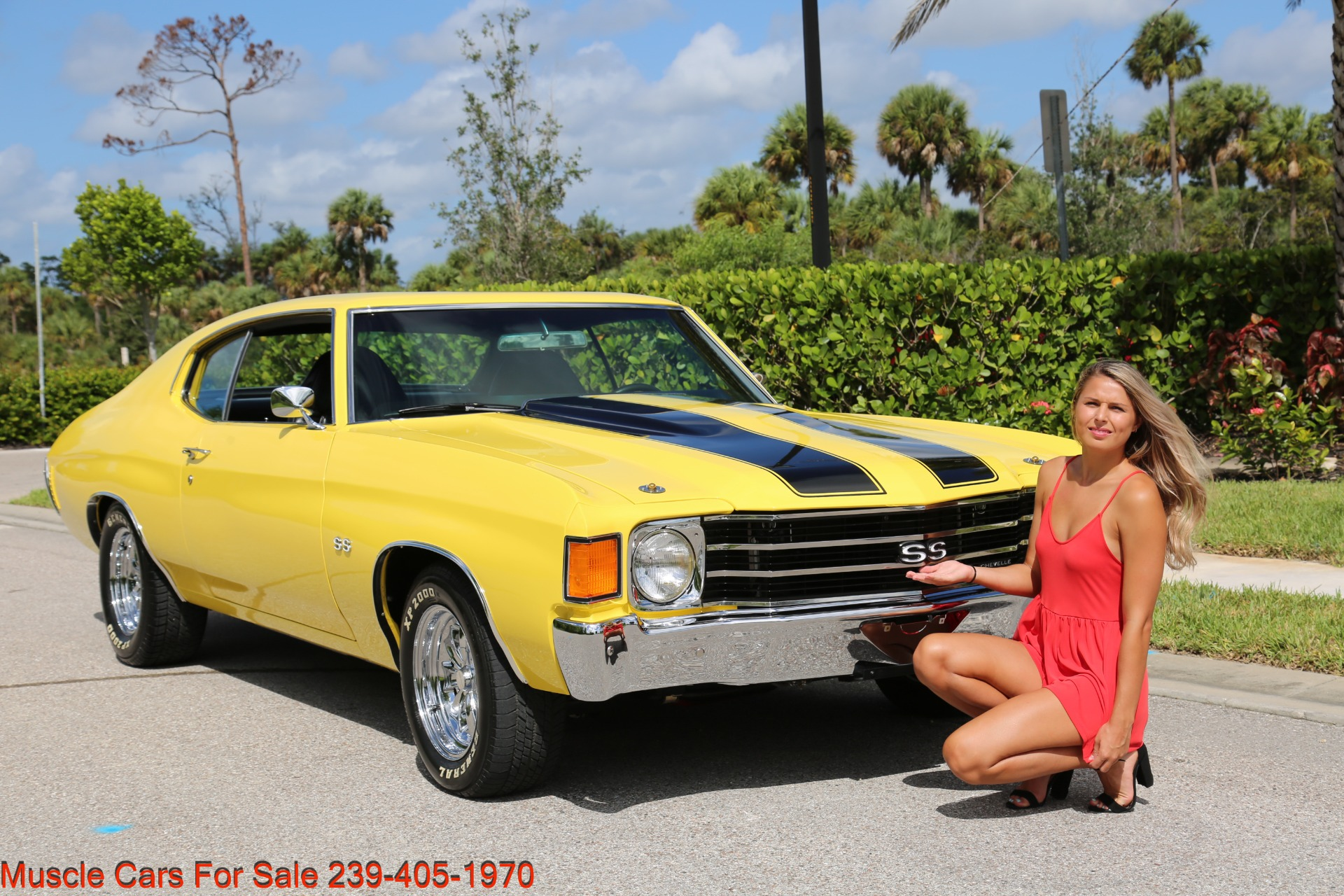 Used 1972 Chevy Chevelle SS for sale Sold at Muscle Cars for Sale Inc. in Fort Myers FL 33912 1