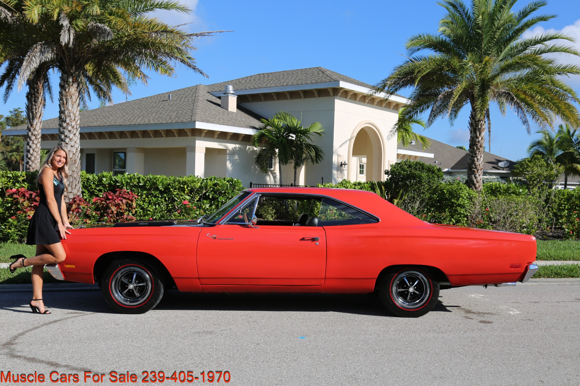 Used 1969 Plymouth Roadrunner Road Runner for sale Sold at Muscle Cars for Sale Inc. in Fort Myers FL 33912 2