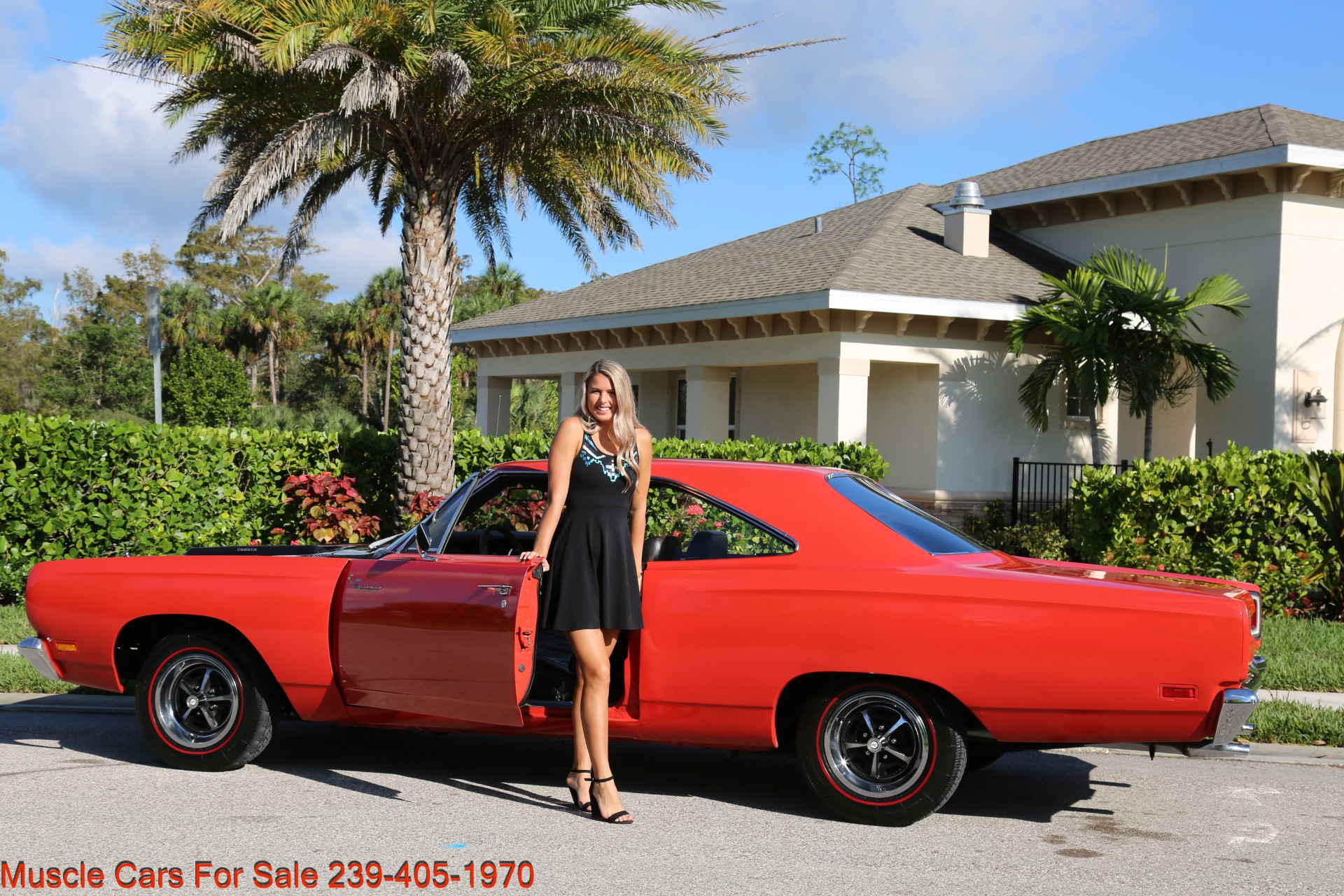 Used 1969 Plymouth Roadrunner Road Runner for sale Sold at Muscle Cars for Sale Inc. in Fort Myers FL 33912 3