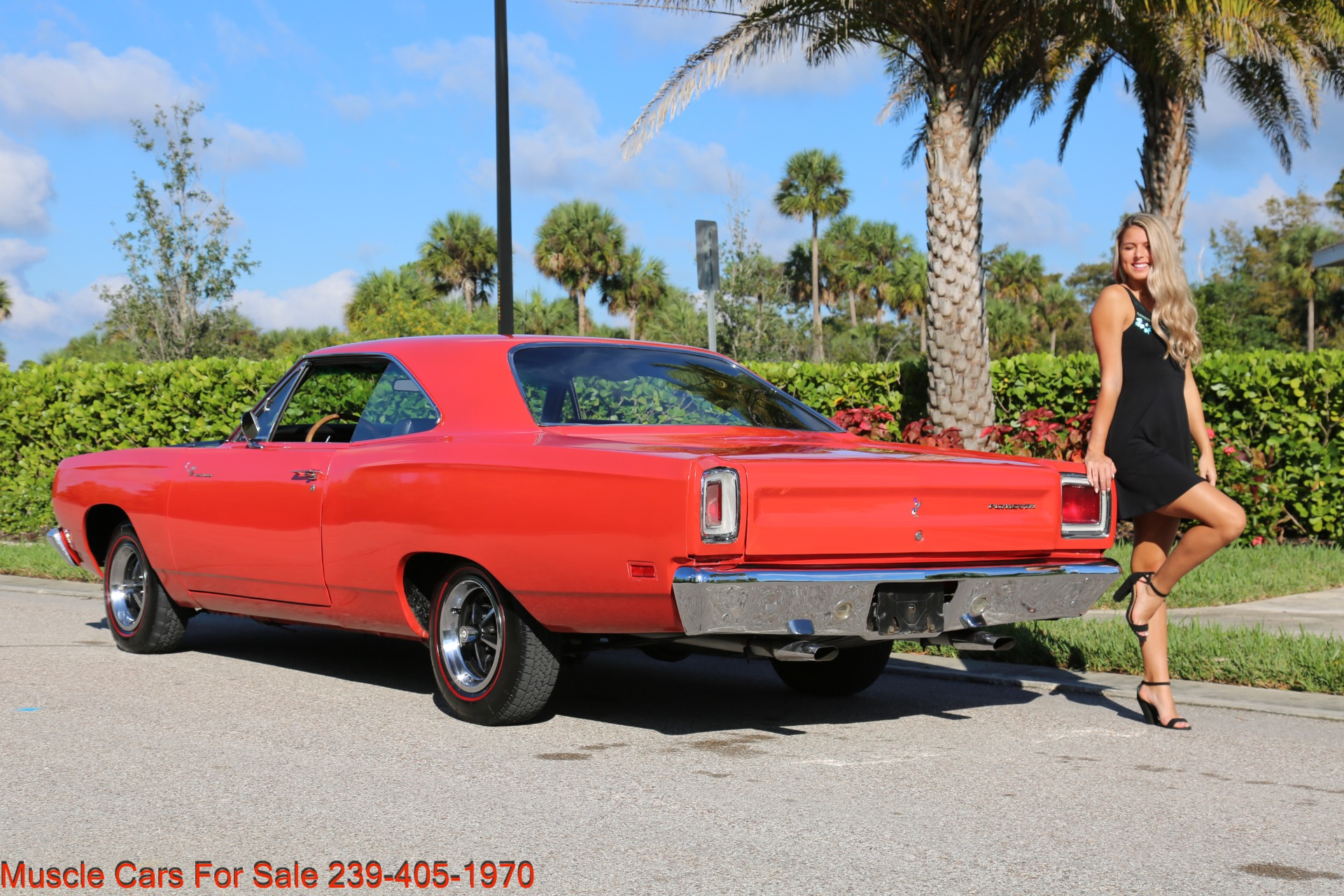 Used 1969 Plymouth Roadrunner Road Runner for sale Sold at Muscle Cars for Sale Inc. in Fort Myers FL 33912 5