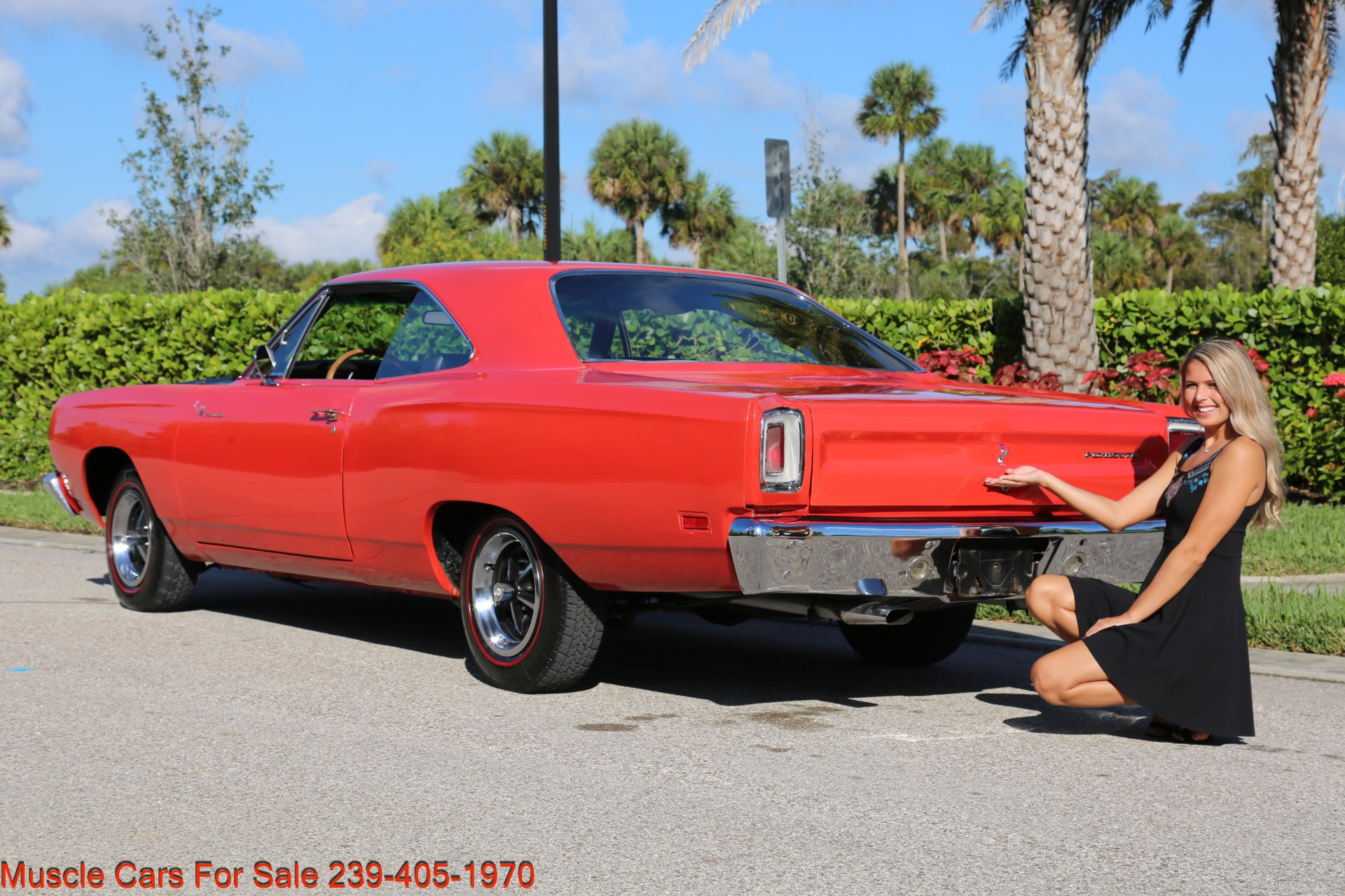 Used 1969 Plymouth Roadrunner Road Runner for sale Sold at Muscle Cars for Sale Inc. in Fort Myers FL 33912 6