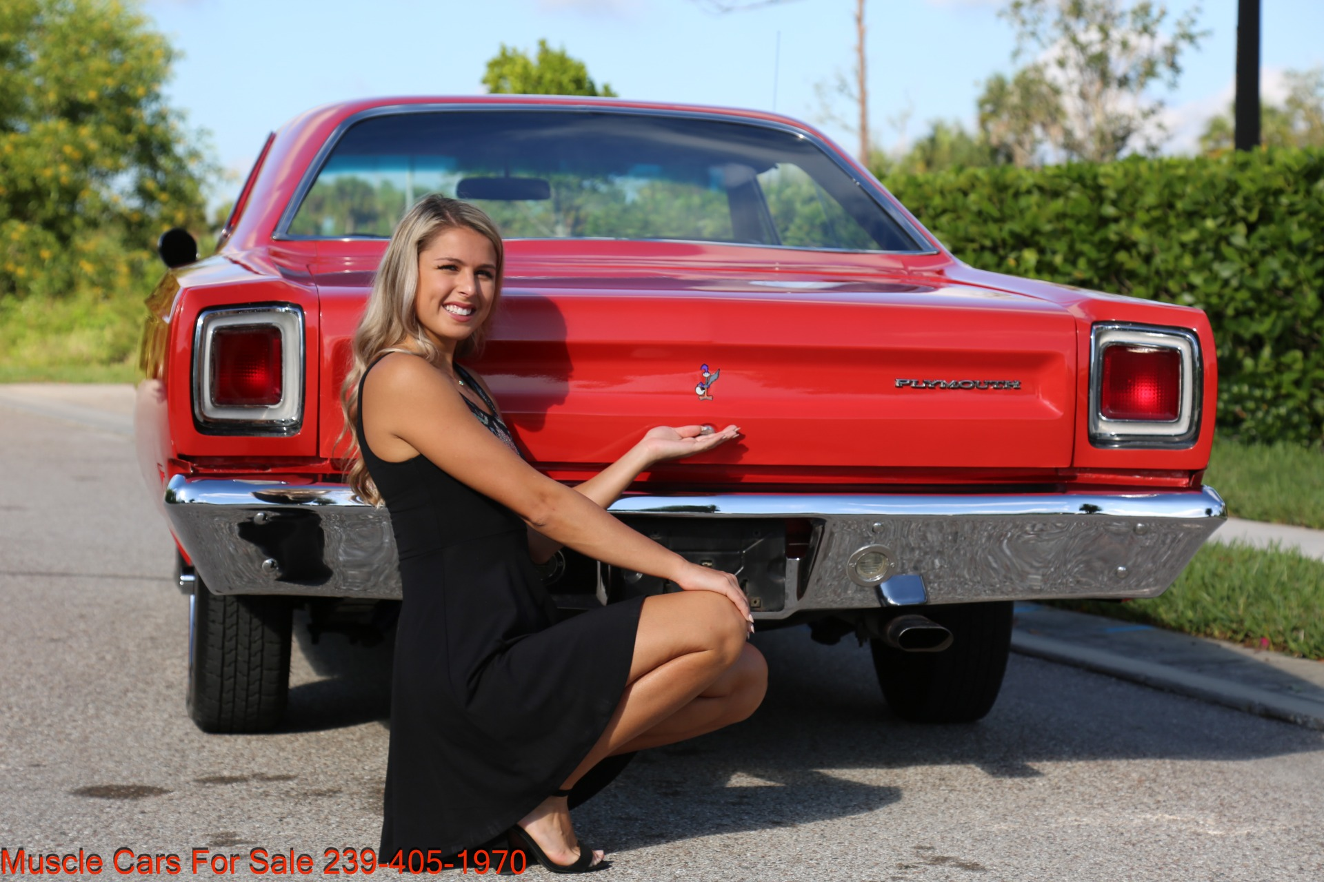 Used 1969 Plymouth Roadrunner Road Runner for sale Sold at Muscle Cars for Sale Inc. in Fort Myers FL 33912 7