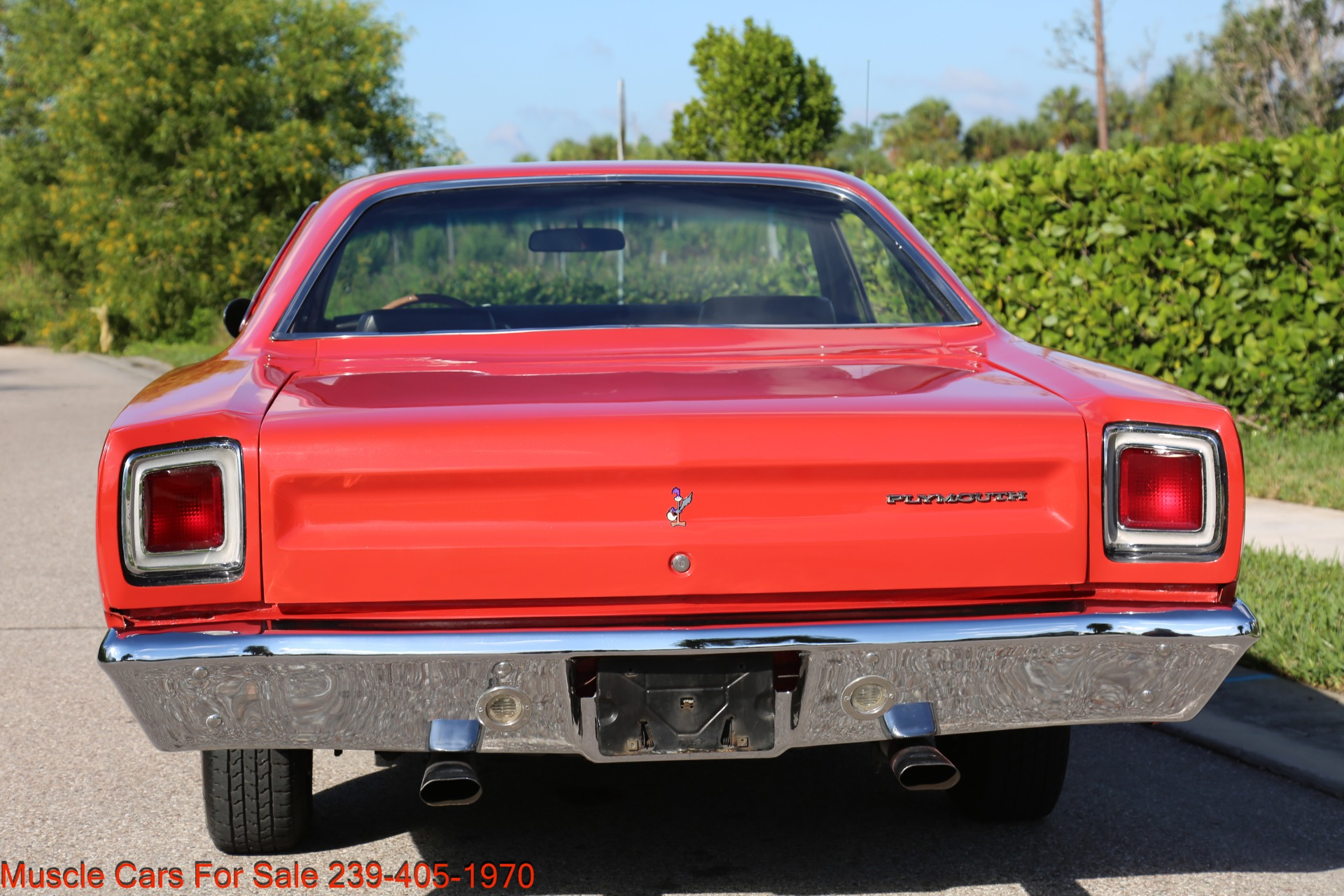 Used 1969 Plymouth Roadrunner Road Runner for sale Sold at Muscle Cars for Sale Inc. in Fort Myers FL 33912 8
