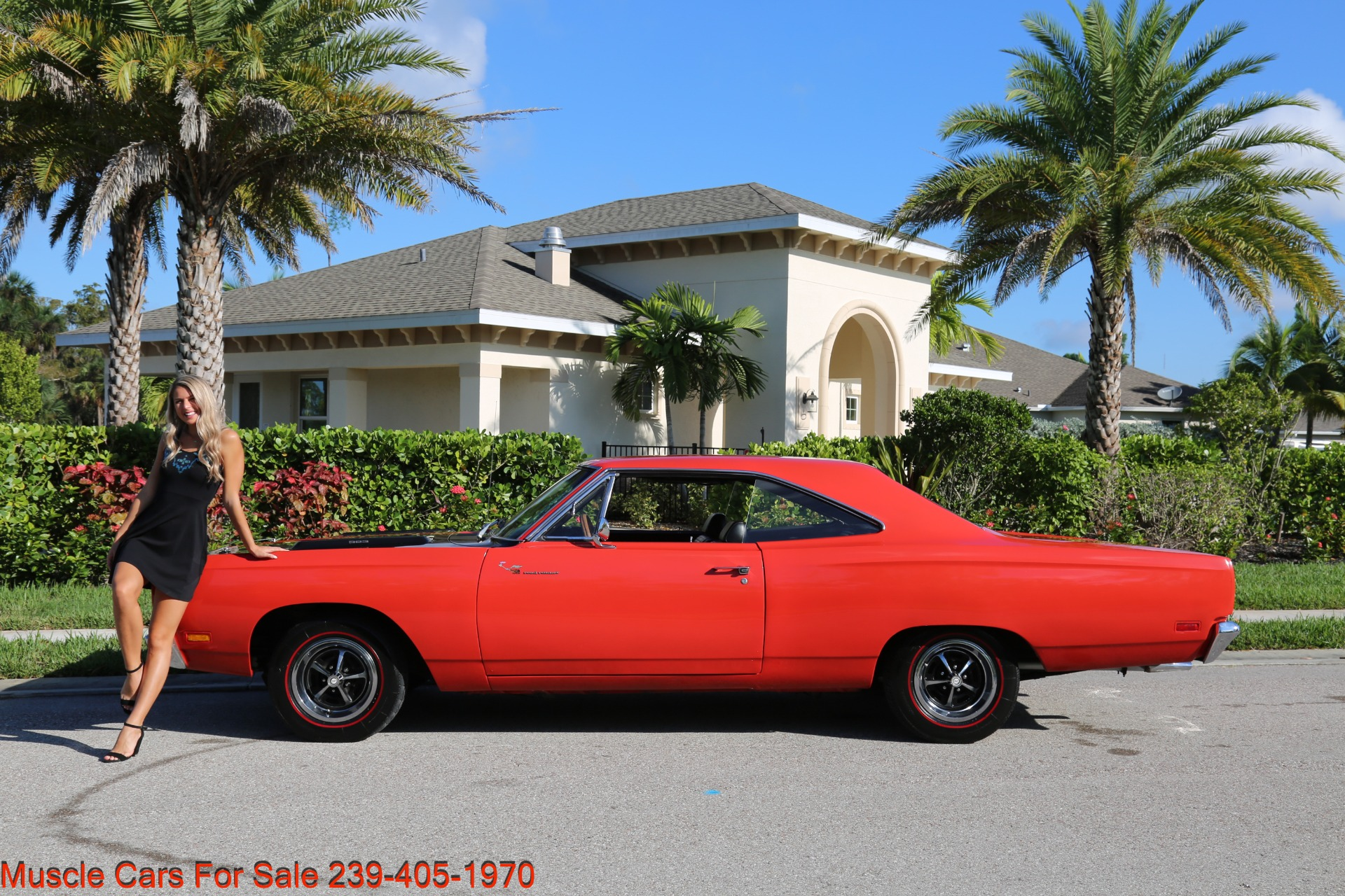 Used 1969 Plymouth Roadrunner Road Runner for sale Sold at Muscle Cars for Sale Inc. in Fort Myers FL 33912 1