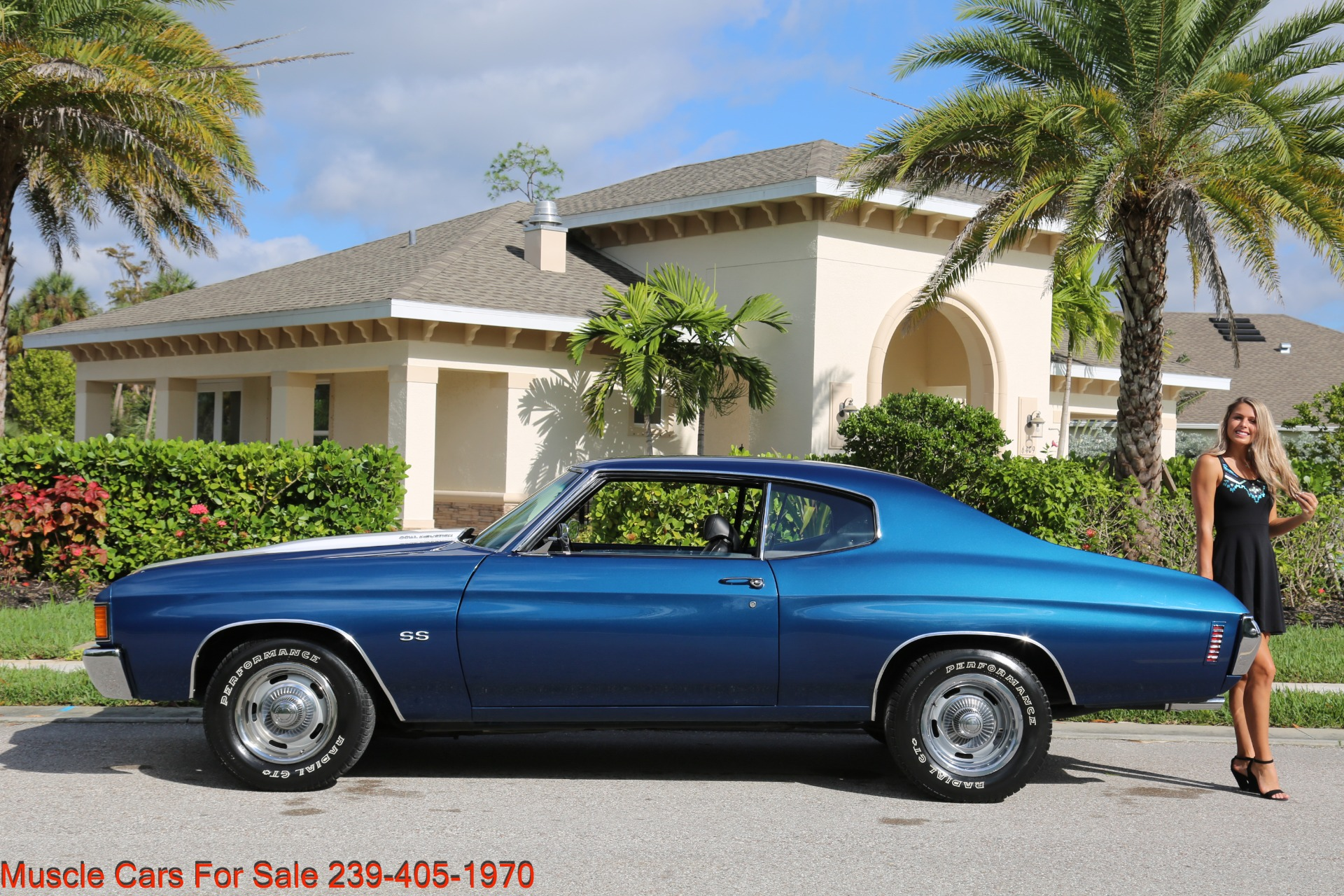 Used 1972 Chevy Chevelle SS SS for sale Sold at Muscle Cars for Sale Inc. in Fort Myers FL 33912 3
