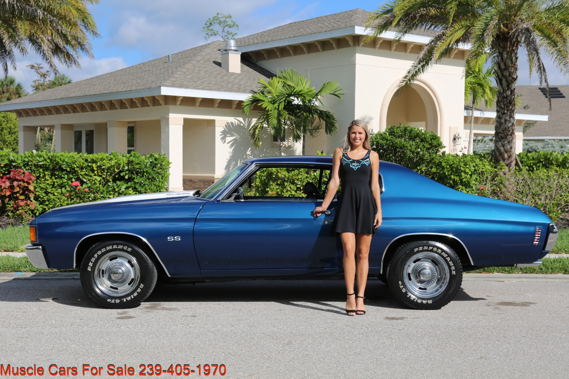 Used 1972 Chevy Chevelle SS SS for sale Sold at Muscle Cars for Sale Inc. in Fort Myers FL 33912 4