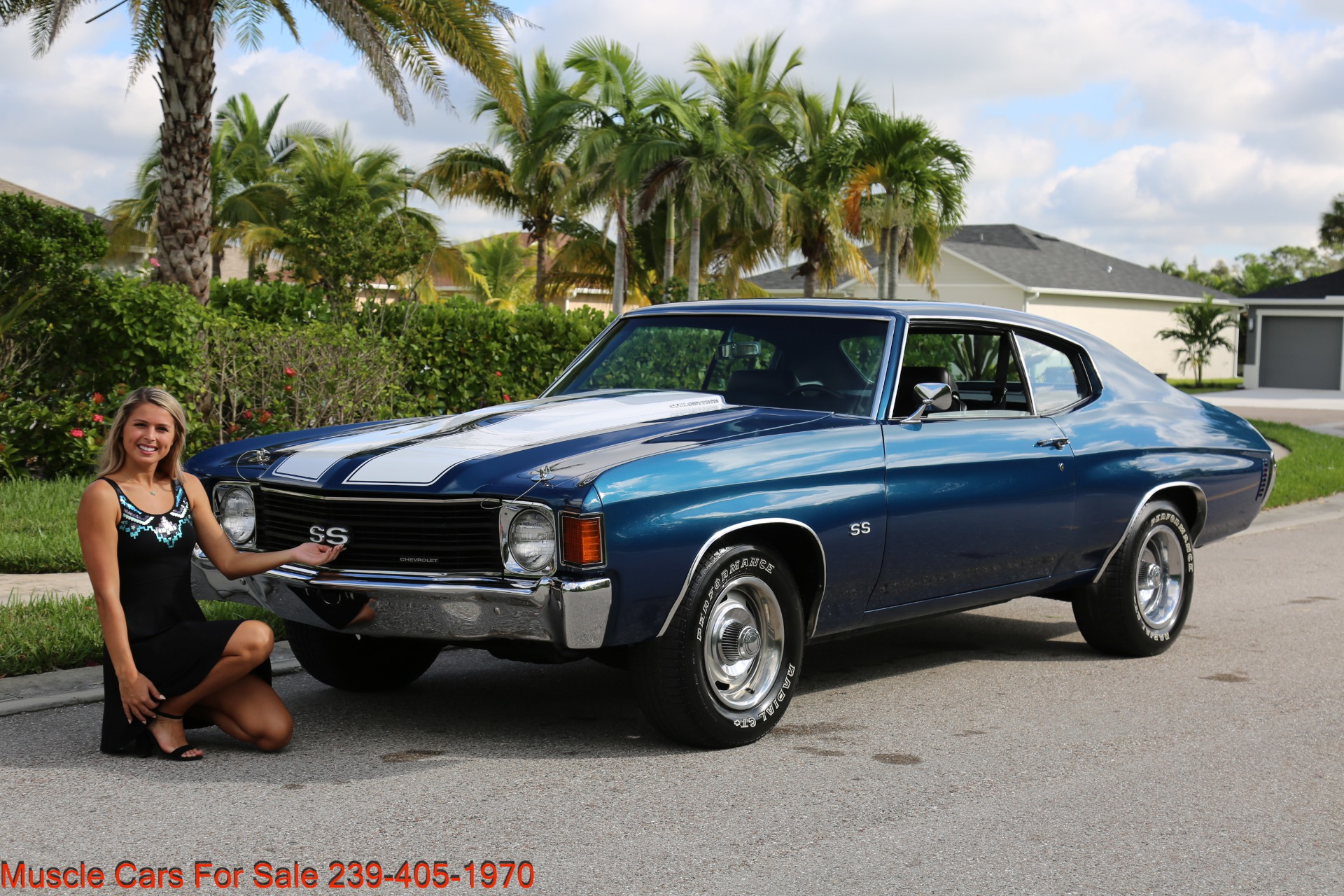 Used 1972 Chevy Chevelle SS SS for sale Sold at Muscle Cars for Sale Inc. in Fort Myers FL 33912 1