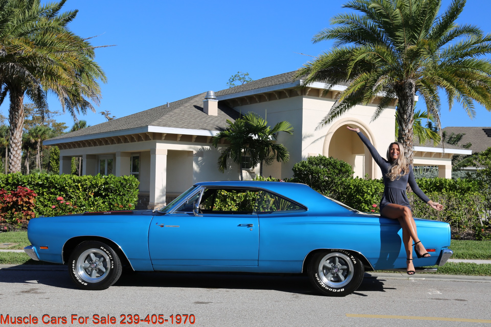 Used 1969 Plymouth Roadrunner for sale $35,500 at Muscle Cars for Sale Inc. in Fort Myers FL 33912 2