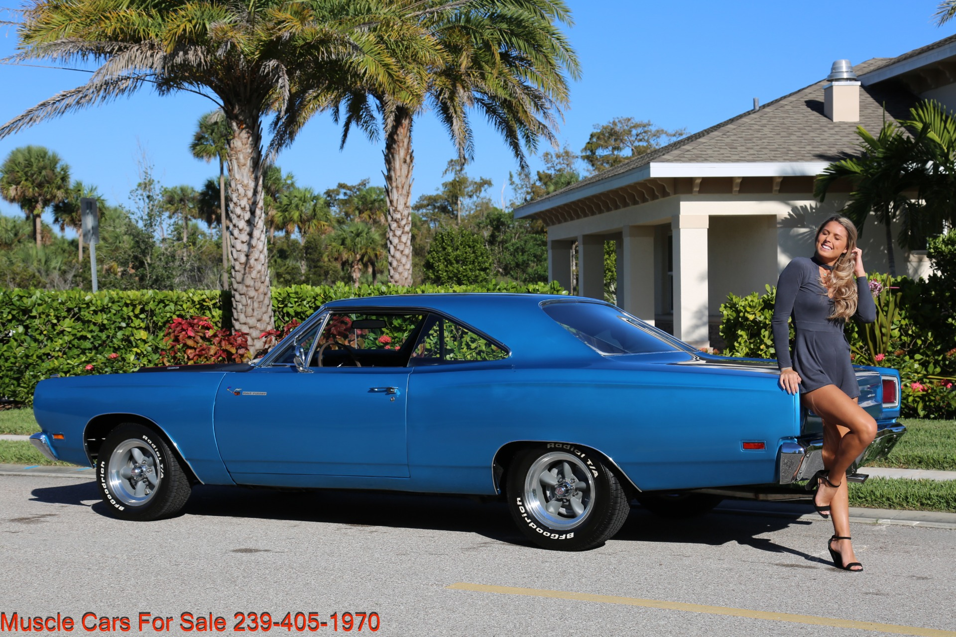 Used 1969 Plymouth Roadrunner for sale $35,500 at Muscle Cars for Sale Inc. in Fort Myers FL 33912 3