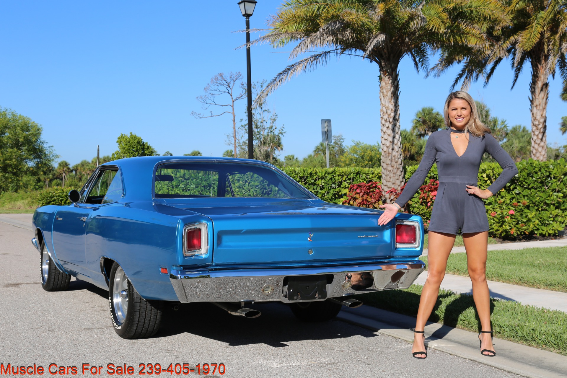 Used 1969 Plymouth Roadrunner for sale $35,500 at Muscle Cars for Sale Inc. in Fort Myers FL 33912 4