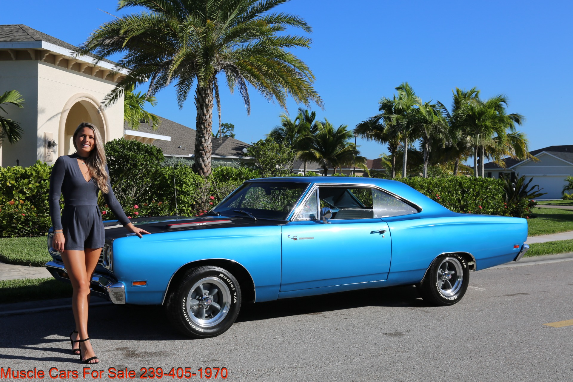 Used 1969 Plymouth Roadrunner for sale $35,500 at Muscle Cars for Sale Inc. in Fort Myers FL 33912 1