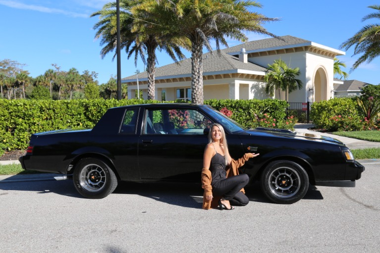 Used 1987 Buick Regal Grand National Turbo for sale $24,500 at Muscle Cars for Sale Inc. in Fort Myers FL