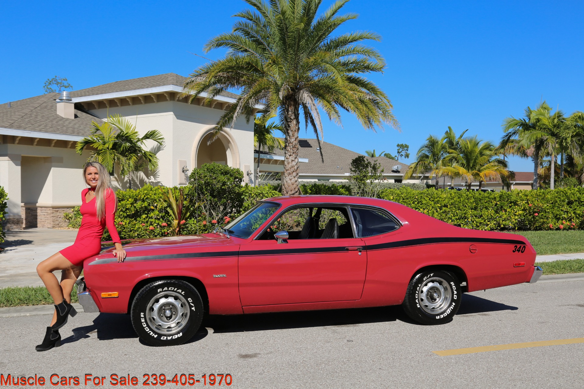 Used 1974 Plymouth Duster Sport Coupe for sale $18,000 at Muscle Cars for Sale Inc. in Fort Myers FL 33912 2