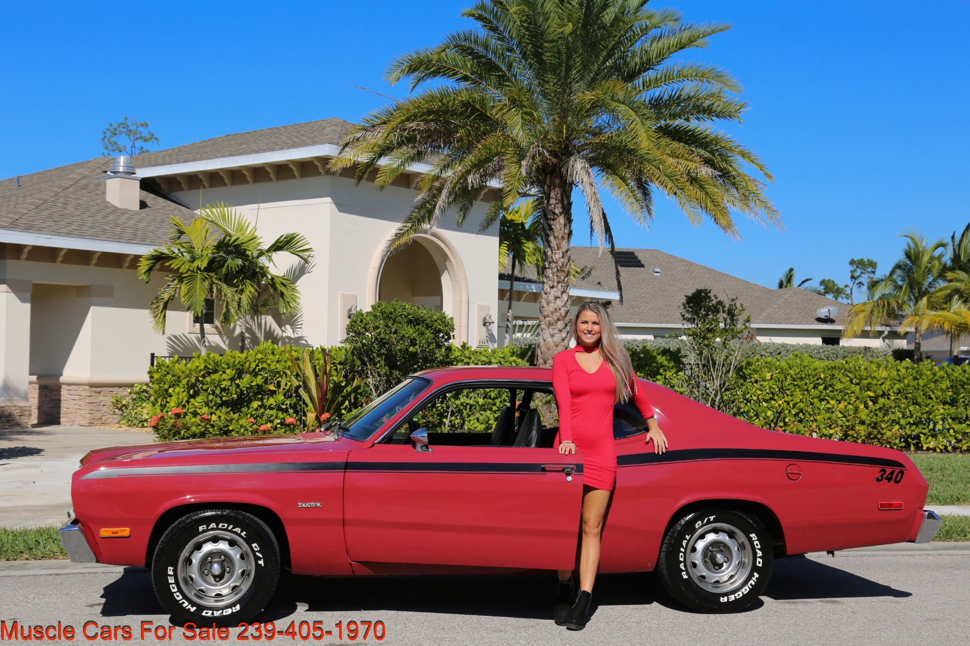 Used 1974 Plymouth Duster Sport Coupe for sale $18,000 at Muscle Cars for Sale Inc. in Fort Myers FL 33912 3