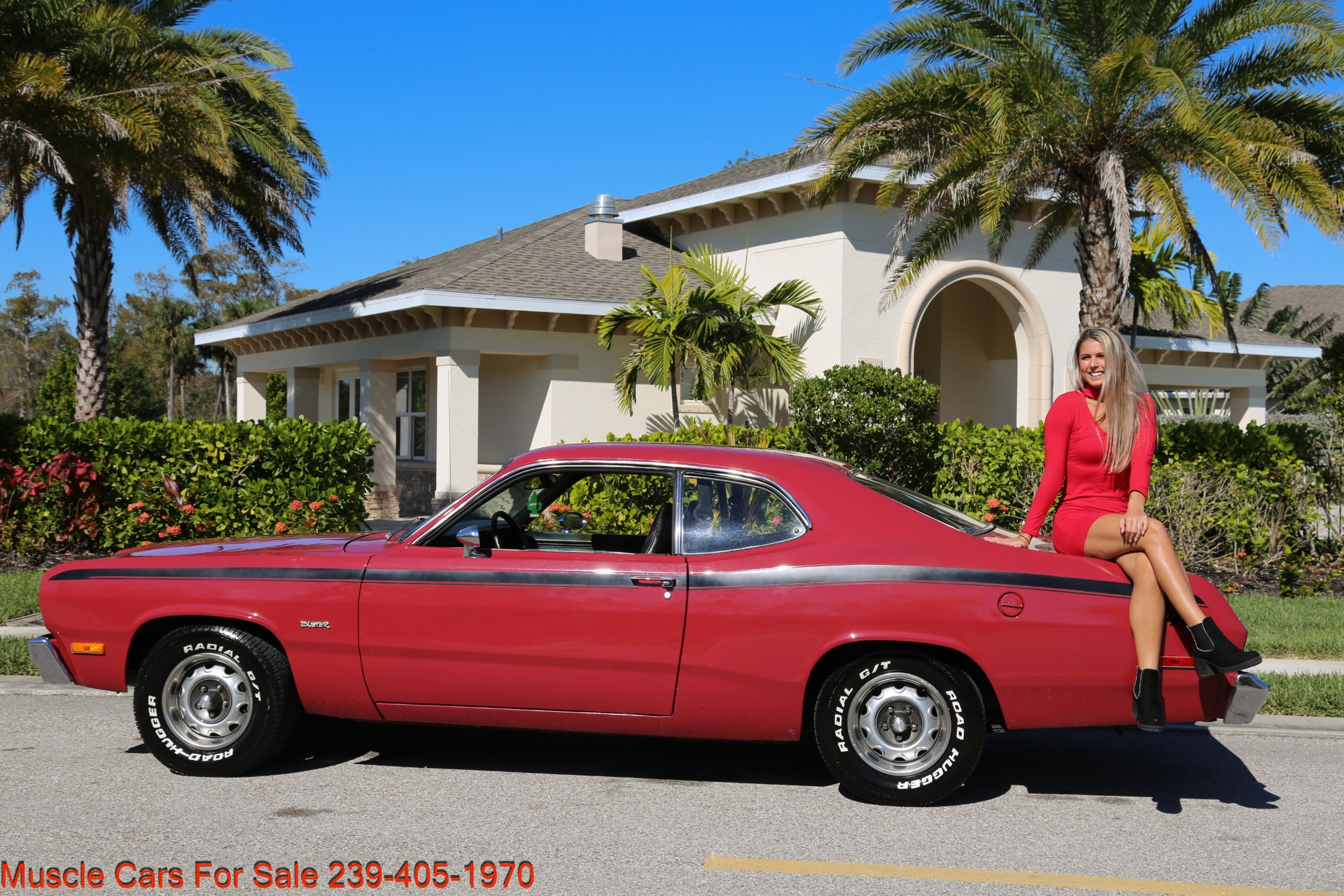 Used 1974 Plymouth Duster Sport Coupe for sale $18,000 at Muscle Cars for Sale Inc. in Fort Myers FL 33912 4