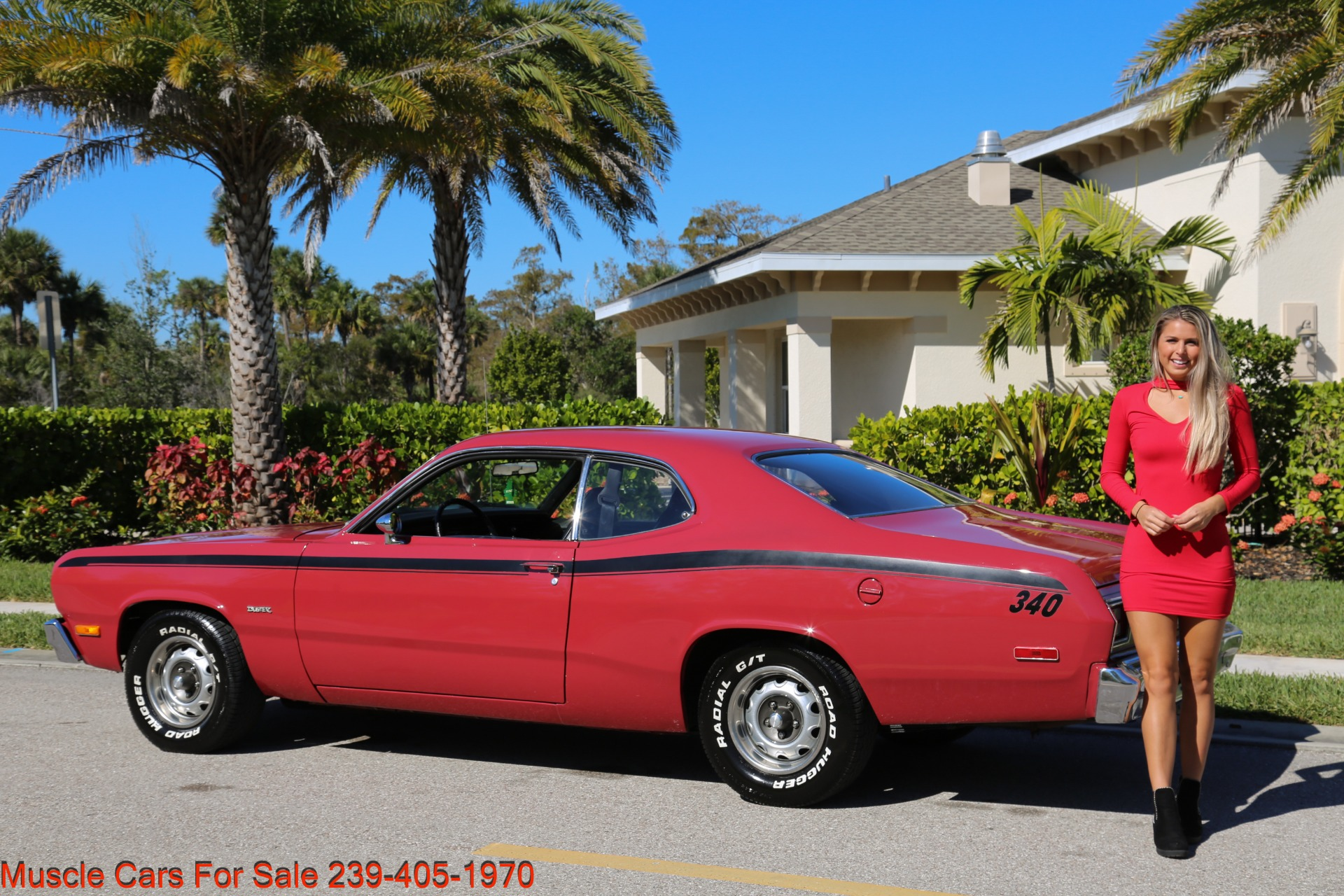 Used 1974 Plymouth Duster Sport Coupe for sale $18,000 at Muscle Cars for Sale Inc. in Fort Myers FL 33912 5
