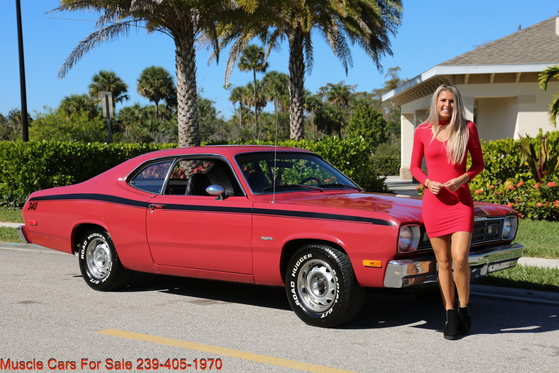 Used 1974 Plymouth Duster Sport Coupe for sale $18,000 at Muscle Cars for Sale Inc. in Fort Myers FL 33912 1