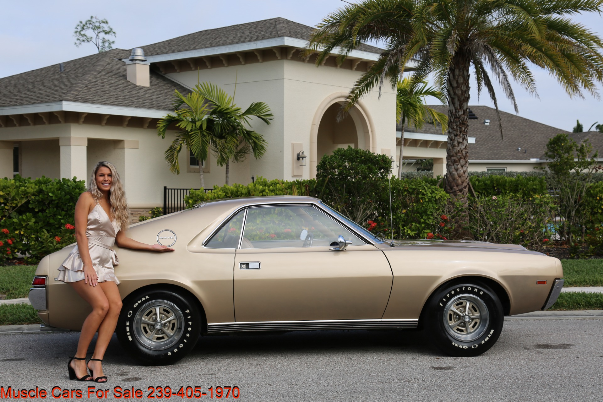 Used 1968 AMC AMX AMX for sale $24,500 at Muscle Cars for Sale Inc. in Fort Myers FL 33912 2