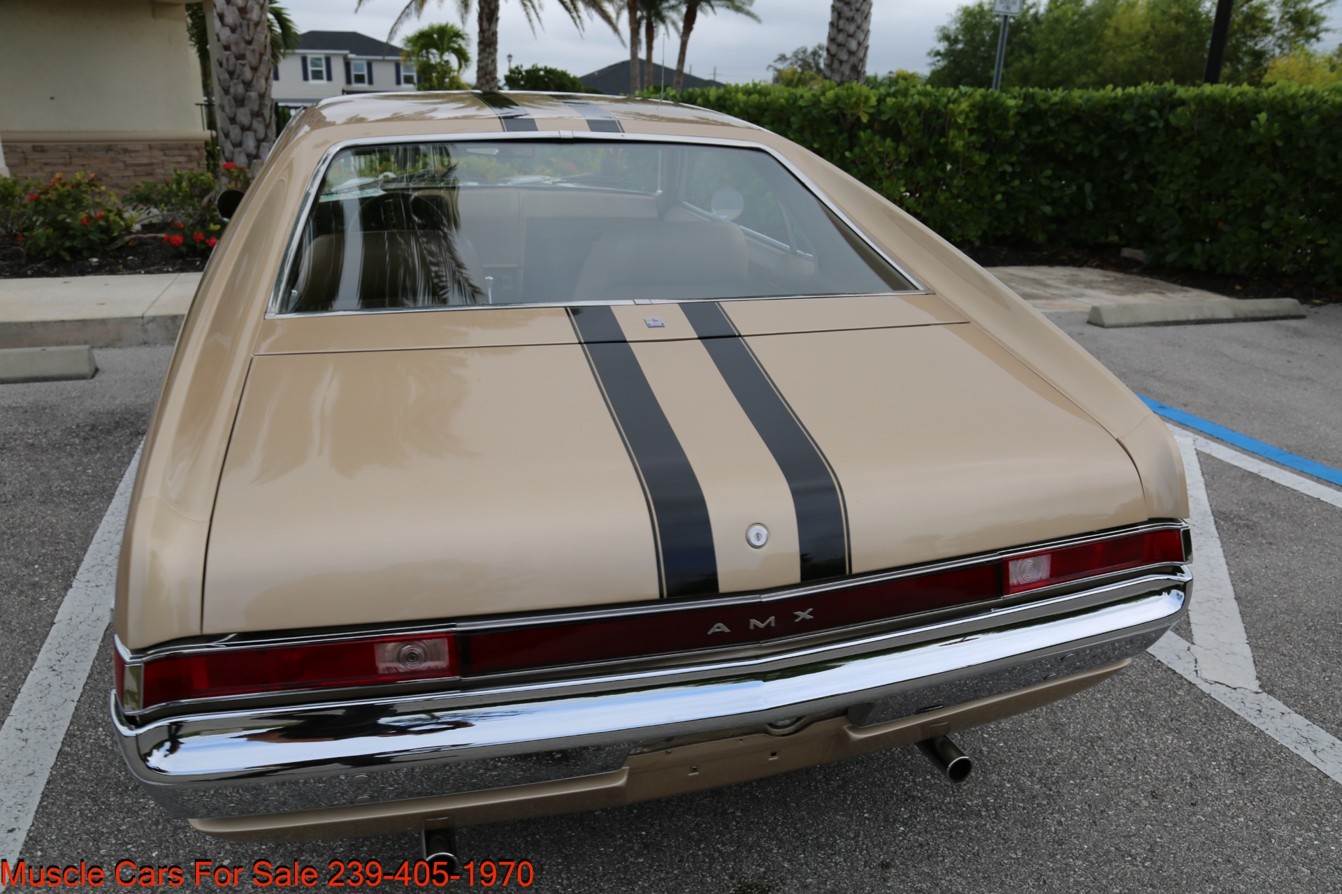 Used 1968 AMC AMX AMX for sale $24,500 at Muscle Cars for Sale Inc. in Fort Myers FL 33912 3