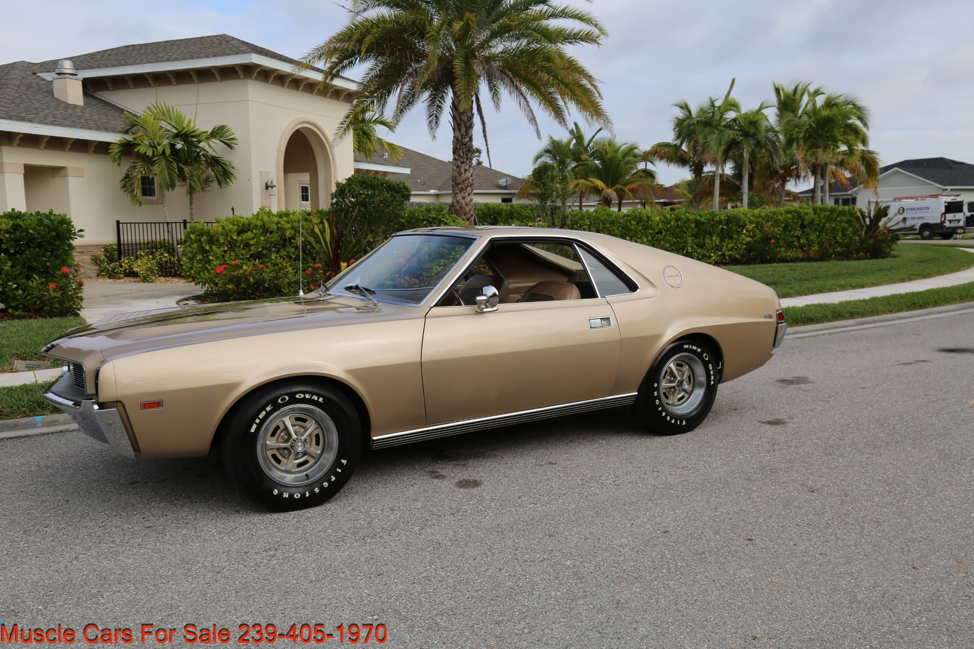 Used 1968 AMC AMX AMX for sale $24,500 at Muscle Cars for Sale Inc. in Fort Myers FL 33912 4