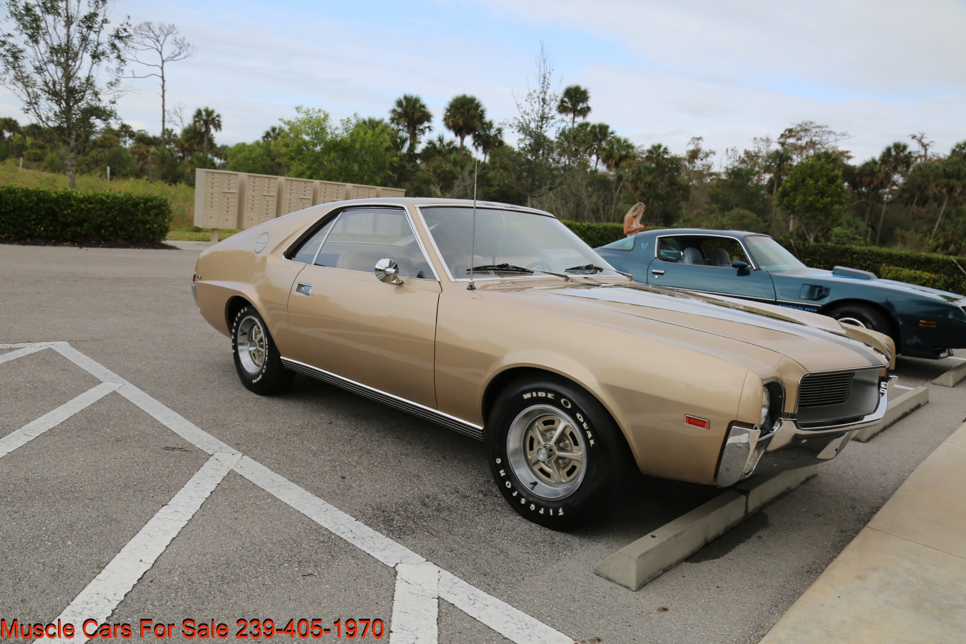 Used 1968 AMC AMX AMX for sale $24,500 at Muscle Cars for Sale Inc. in Fort Myers FL 33912 8