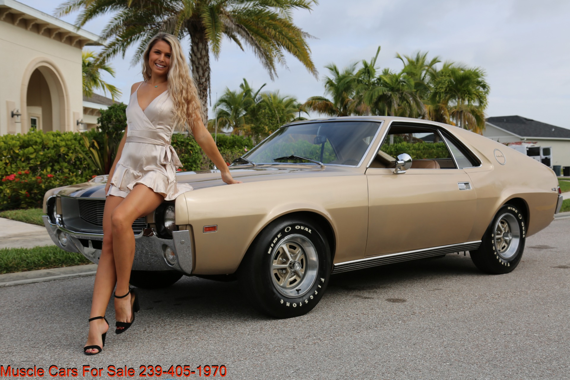 Used 1968 AMC AMX AMX for sale $24,500 at Muscle Cars for Sale Inc. in Fort Myers FL 33912 1