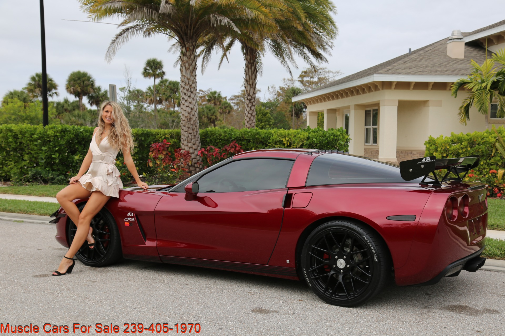 Used 2007 Chevrolet Corvette for sale $24,500 at Muscle Cars for Sale Inc. in Fort Myers FL 33912 3