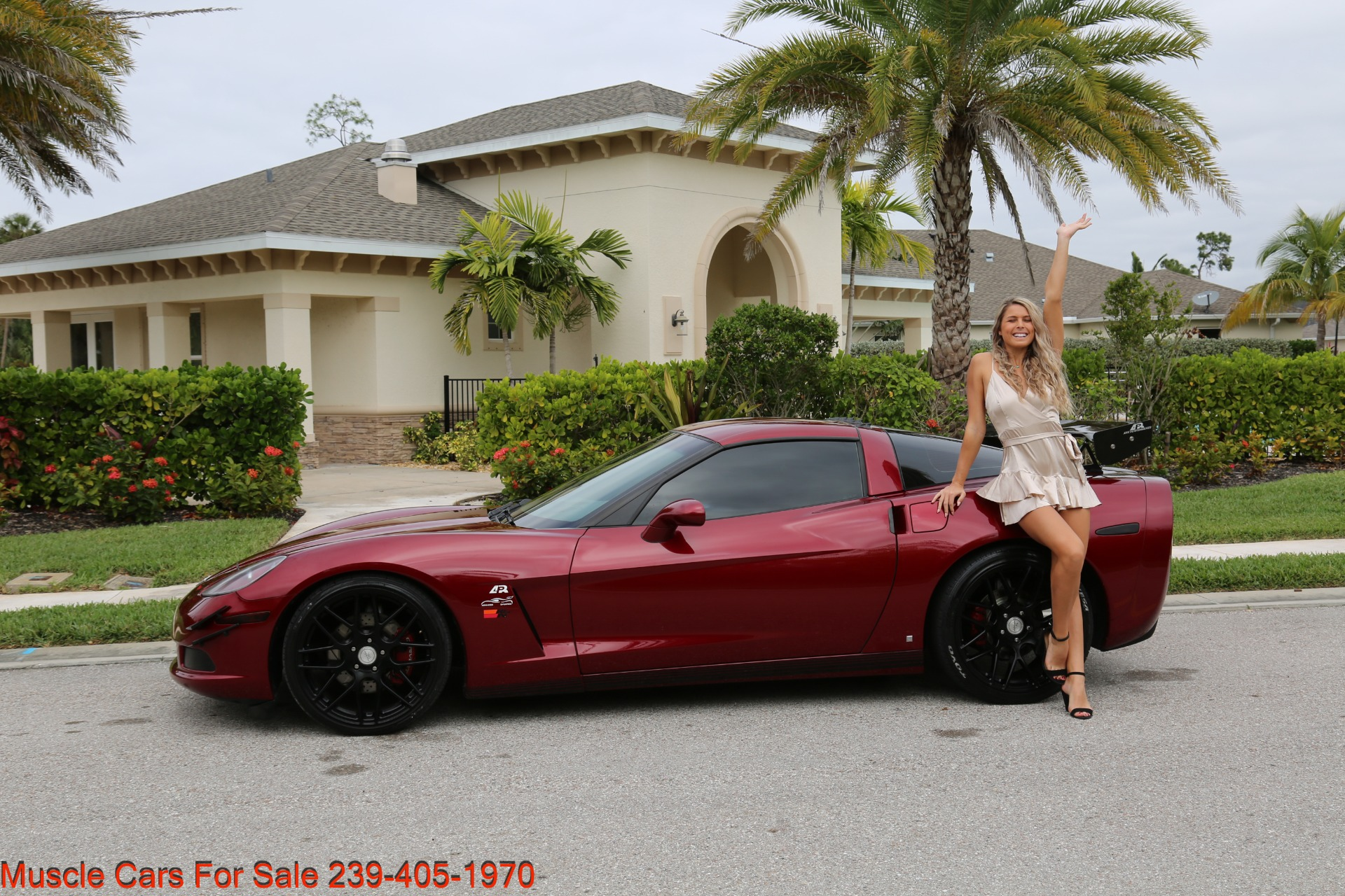 Used 2007 Chevrolet Corvette for sale $24,500 at Muscle Cars for Sale Inc. in Fort Myers FL 33912 4