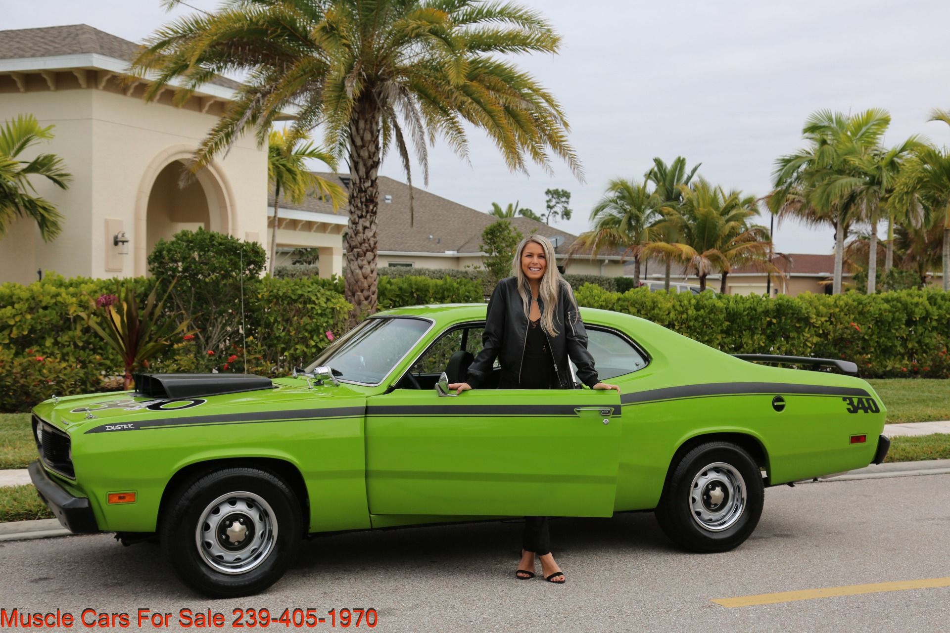 Used 1971 Plymouth Duster for sale Sold at Muscle Cars for Sale Inc. in Fort Myers FL 33912 2