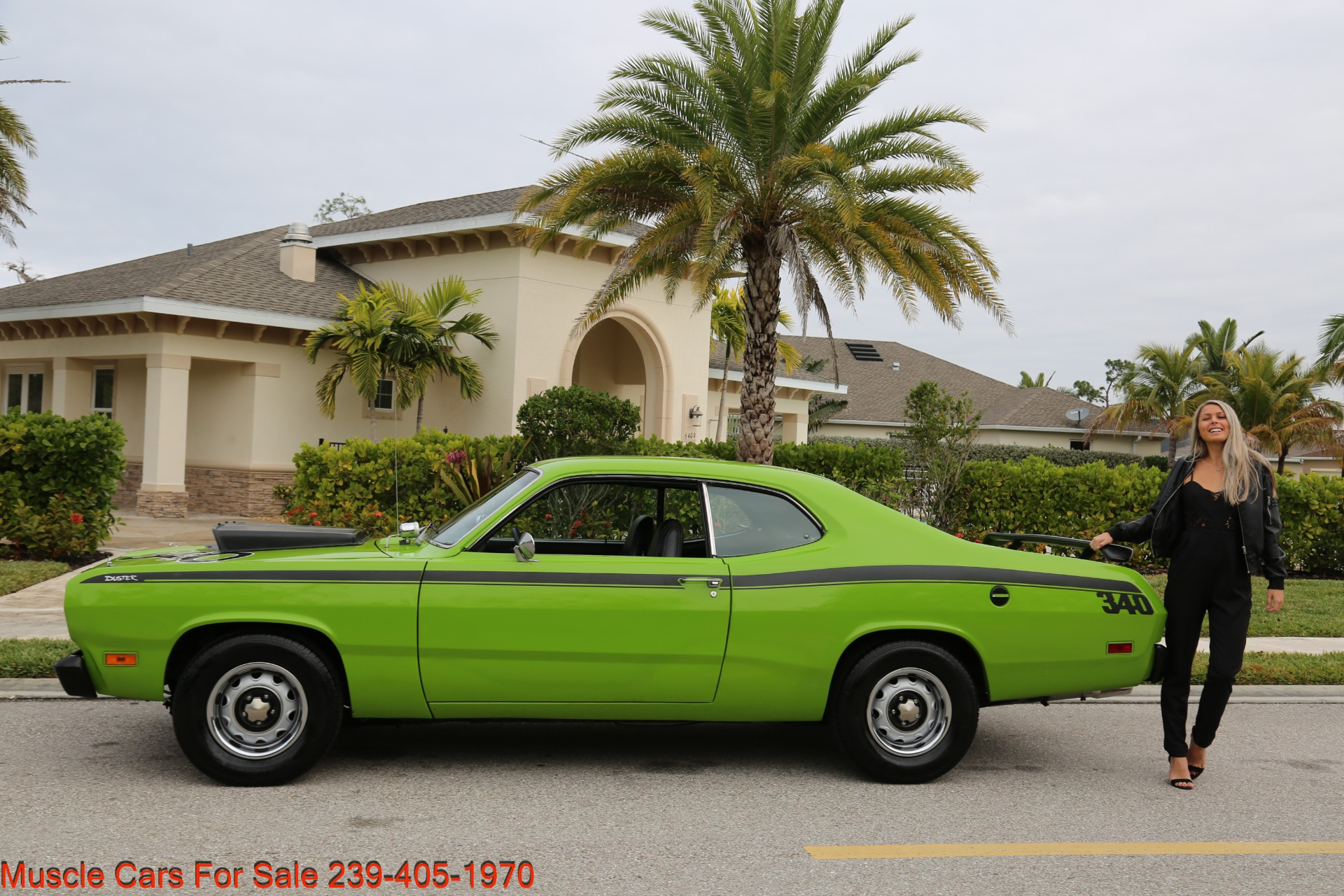 Used 1971 Plymouth Duster for sale Sold at Muscle Cars for Sale Inc. in Fort Myers FL 33912 3
