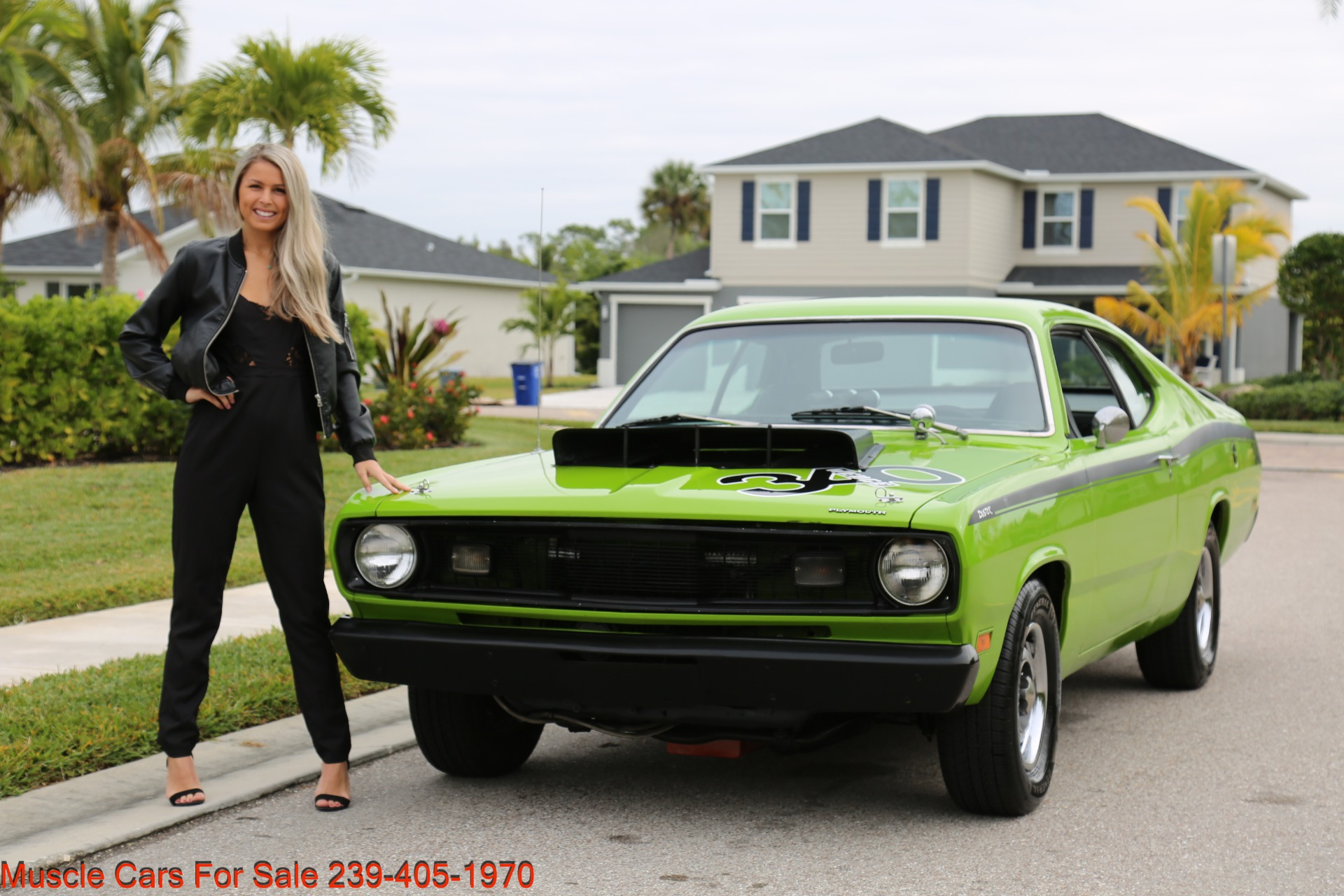 Used 1971 Plymouth Duster for sale Sold at Muscle Cars for Sale Inc. in Fort Myers FL 33912 4