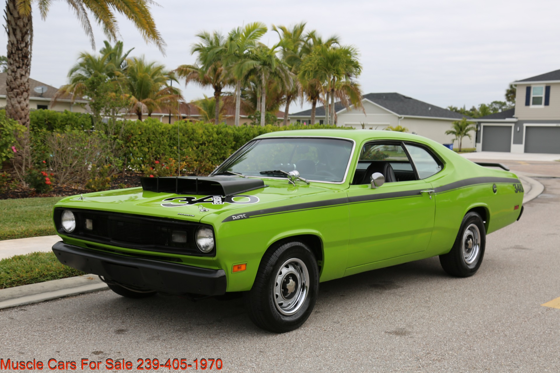 Used 1971 Plymouth Duster for sale Sold at Muscle Cars for Sale Inc. in Fort Myers FL 33912 5