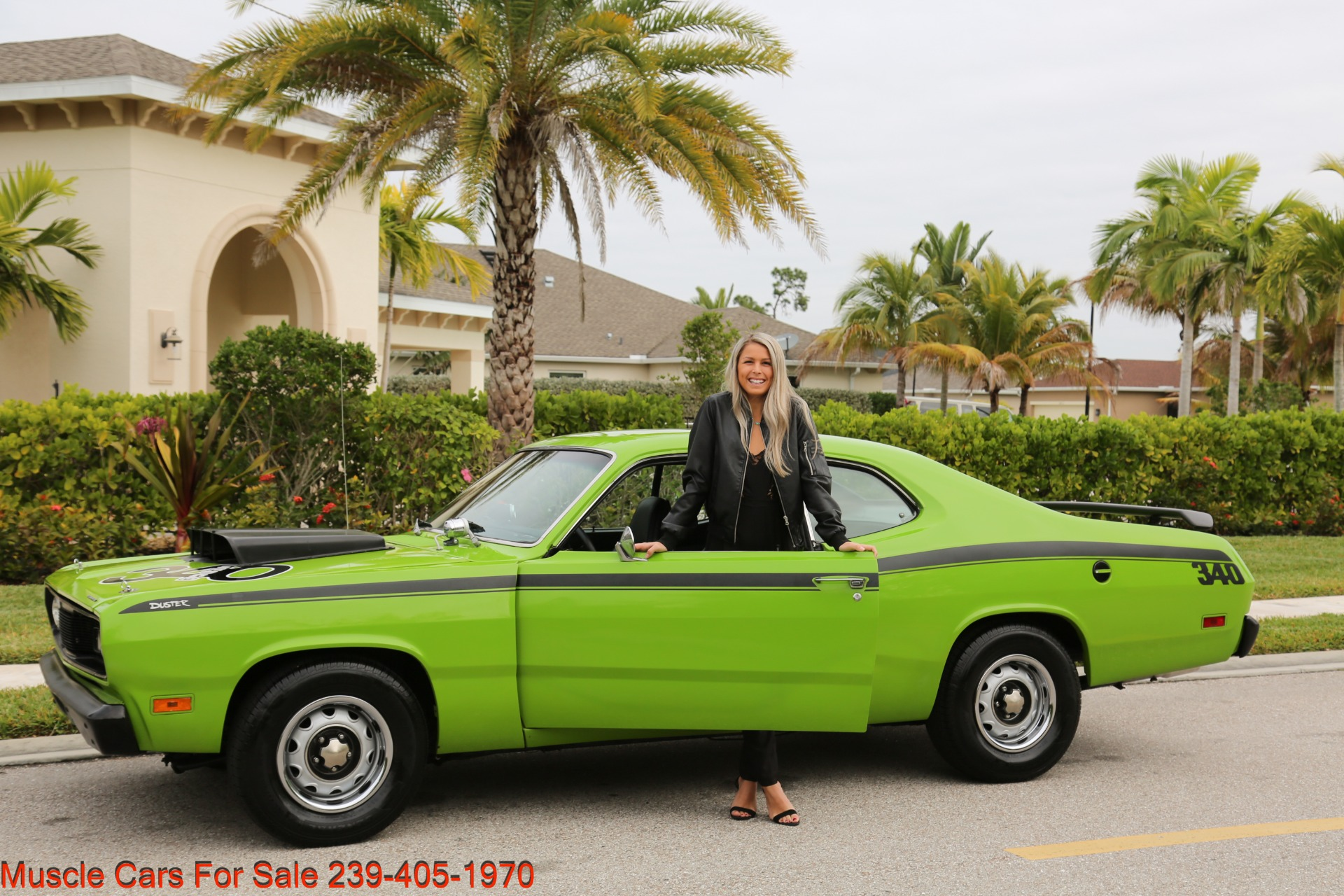 Used 1971 Plymouth Duster for sale Sold at Muscle Cars for Sale Inc. in Fort Myers FL 33912 6