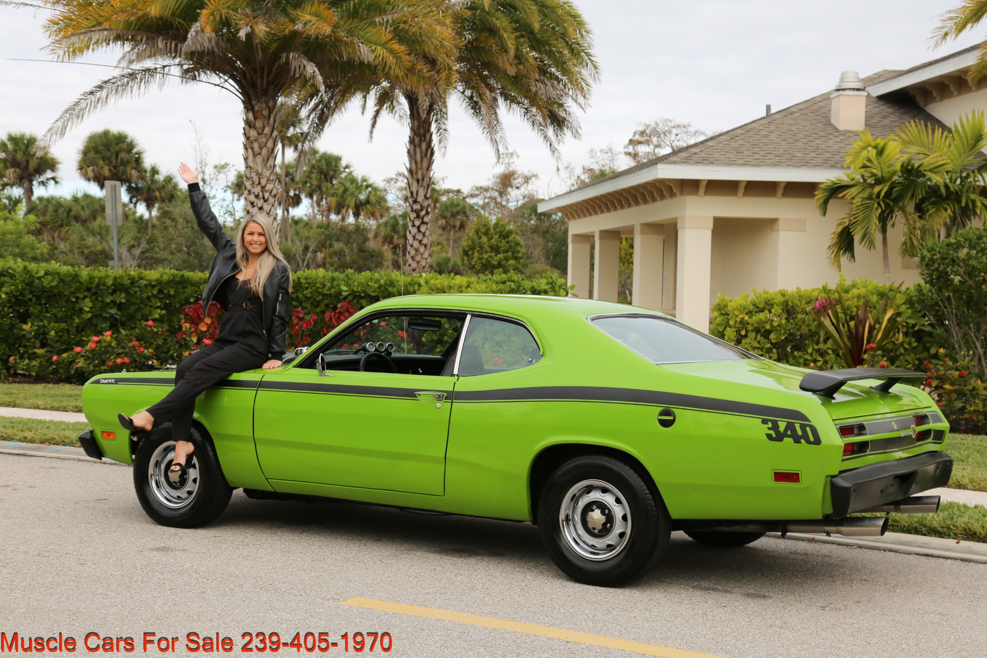 Used 1971 Plymouth Duster for sale Sold at Muscle Cars for Sale Inc. in Fort Myers FL 33912 7