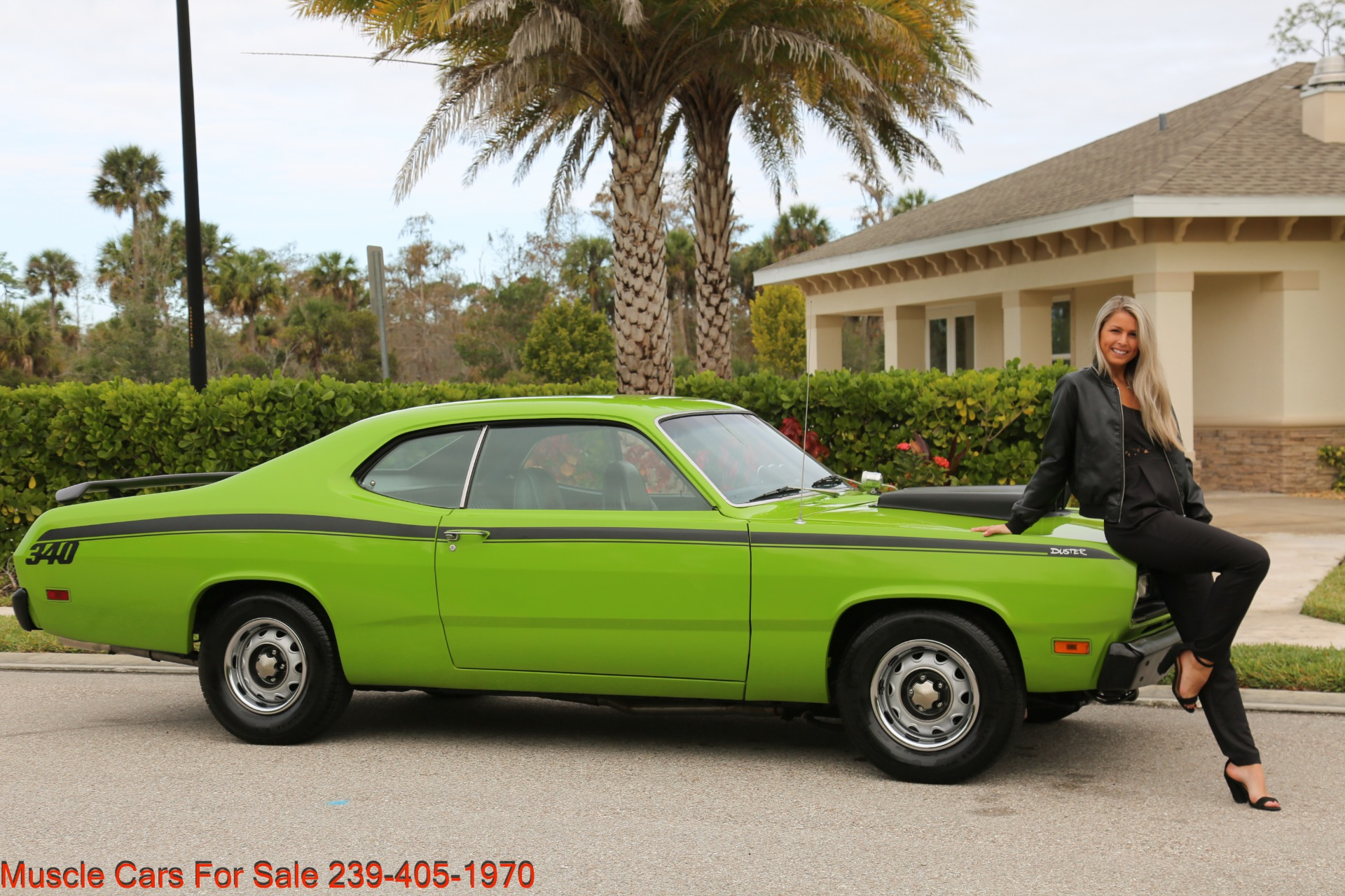 Used 1971 Plymouth Duster for sale Sold at Muscle Cars for Sale Inc. in Fort Myers FL 33912 1