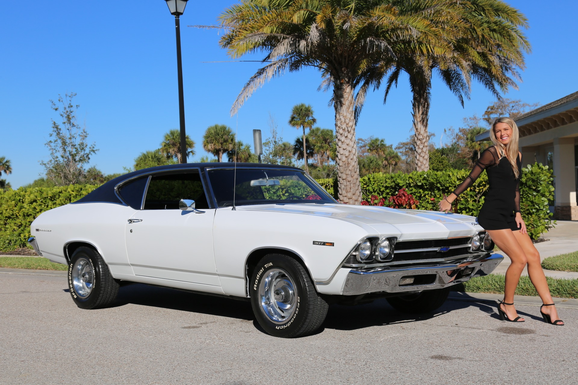 Used 1969 Chevy Chevelle V8 Auto for sale $27,000 at Muscle Cars for Sale Inc. in Fort Myers FL 33912 1