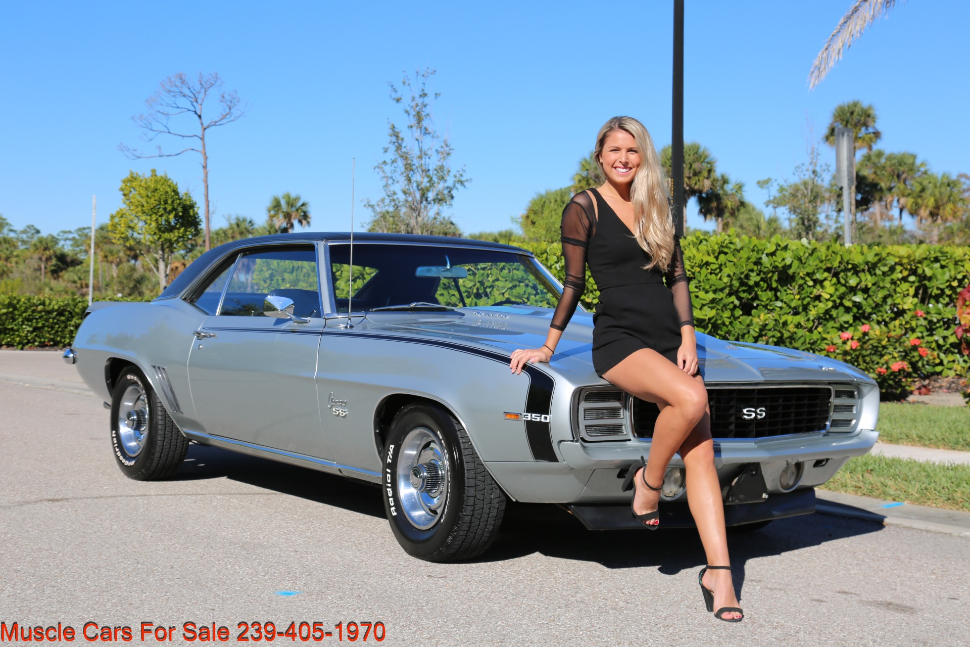 Used 1969 Chevrolet RS Camaro Rally Sport for sale Sold at Muscle Cars for Sale Inc. in Fort Myers FL 33912 2