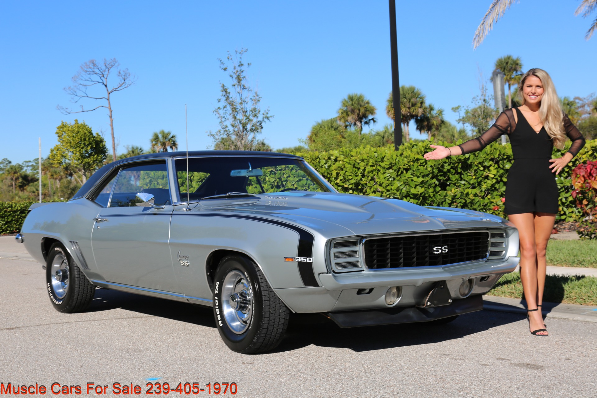 Used 1969 Chevrolet RS Camaro Rally Sport for sale Sold at Muscle Cars for Sale Inc. in Fort Myers FL 33912 3