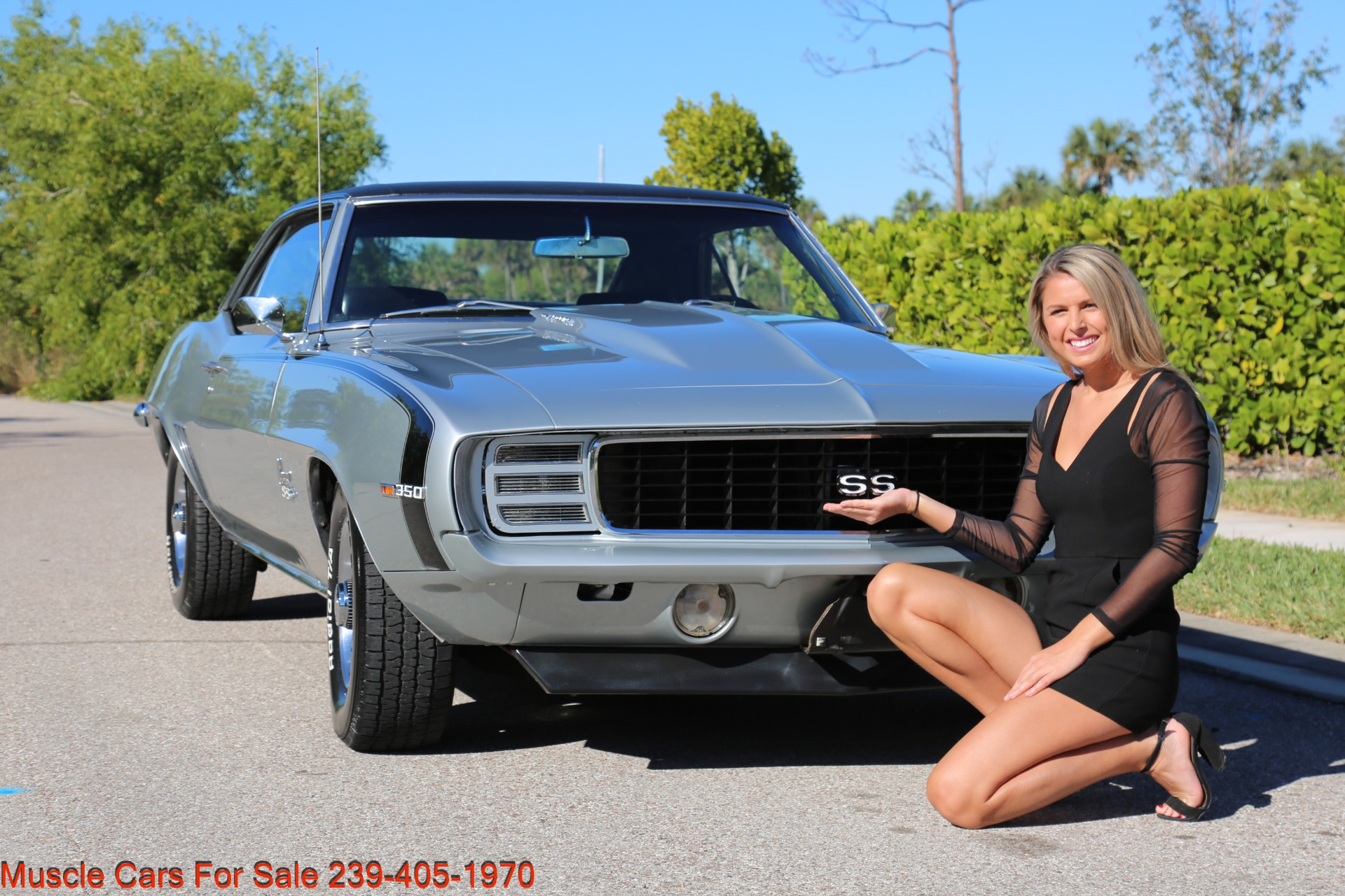 Used 1969 Chevrolet RS Camaro Rally Sport for sale Sold at Muscle Cars for Sale Inc. in Fort Myers FL 33912 4